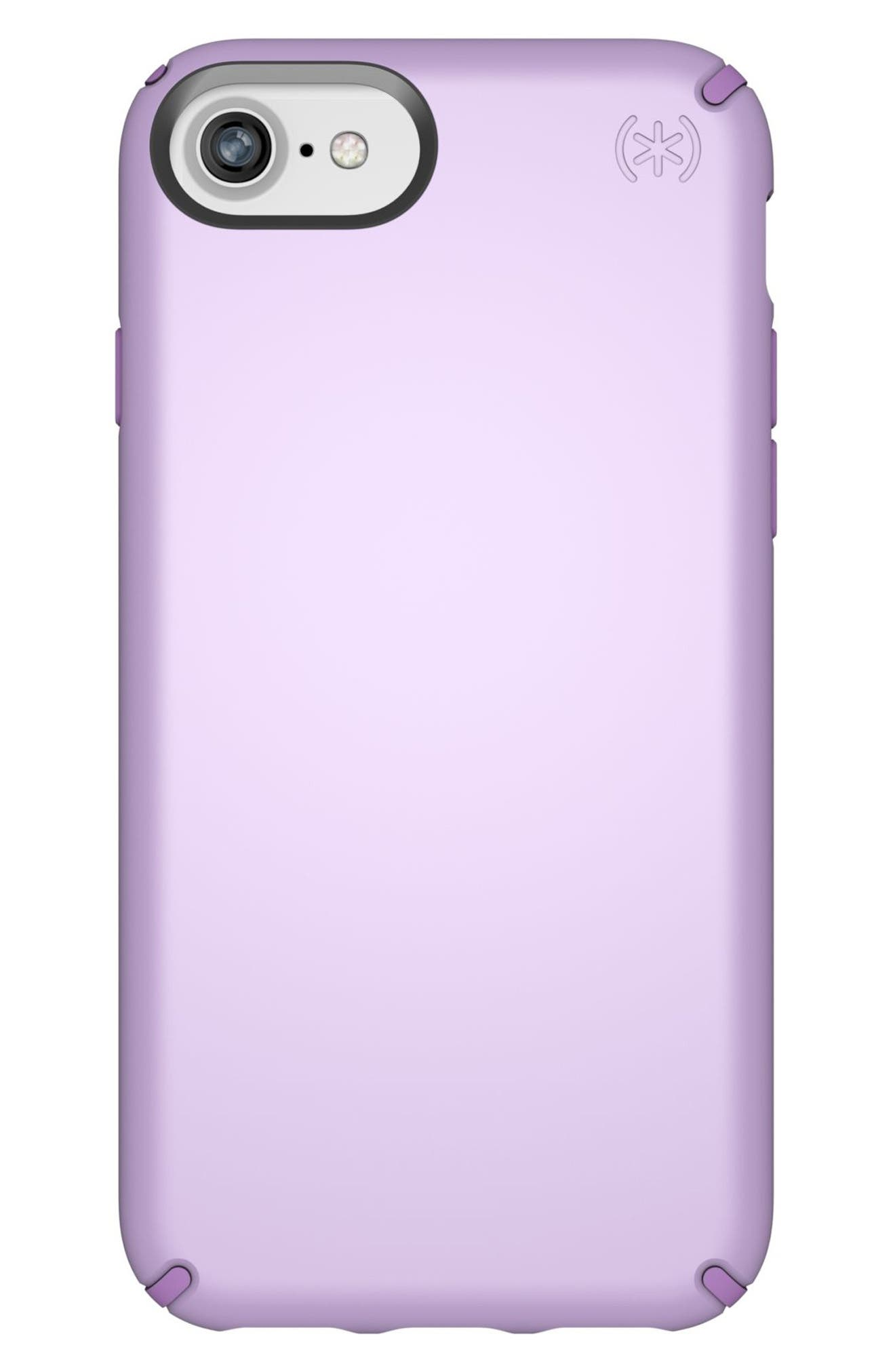 iPhone 6/6s/7/8 Case,                             Main thumbnail 1, color,                             Taro Purple Metallic/ Purple