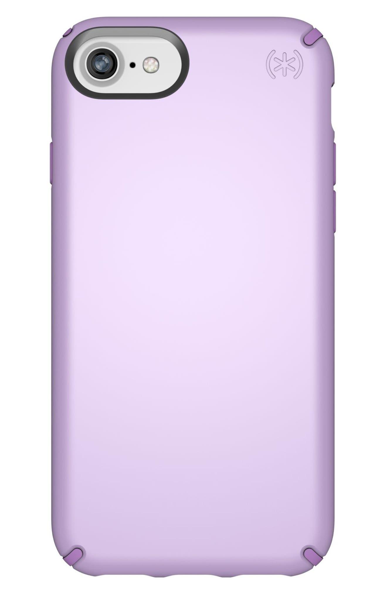 iPhone 6/6s/7/8 Case,                         Main,                         color, Taro Purple Metallic/ Purple