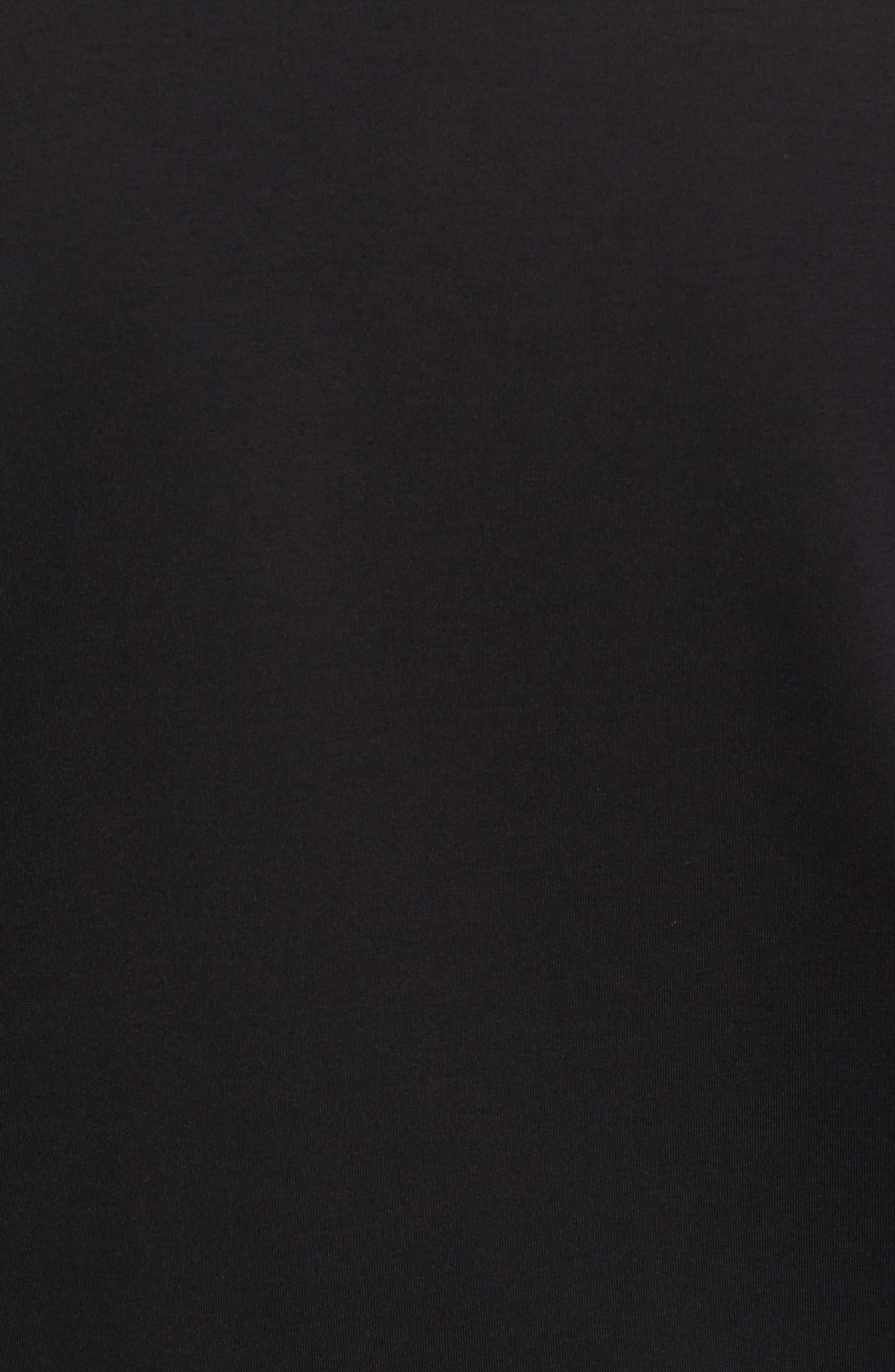 Soule Mercedes Slim Fit Zip Jacket,                             Alternate thumbnail 5, color,                             Black