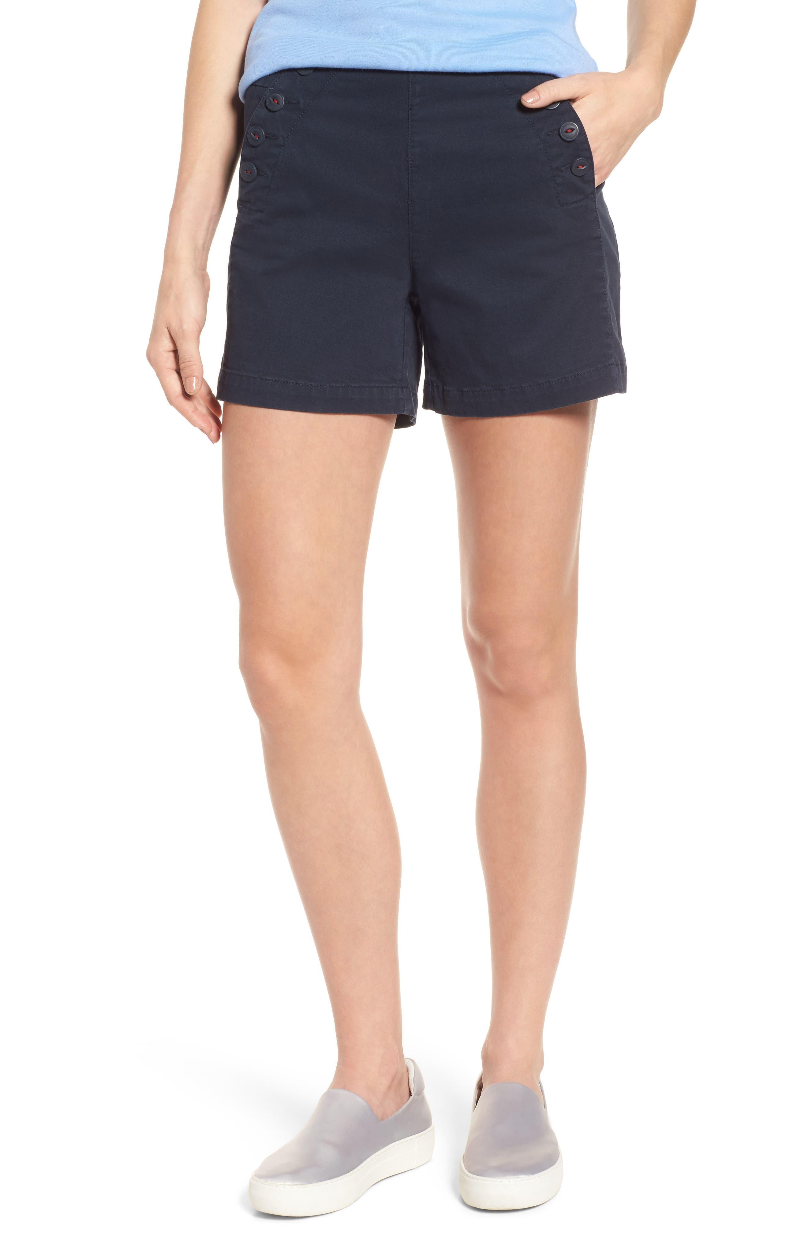 Jag Jeans Sailor Button Detail Shorts