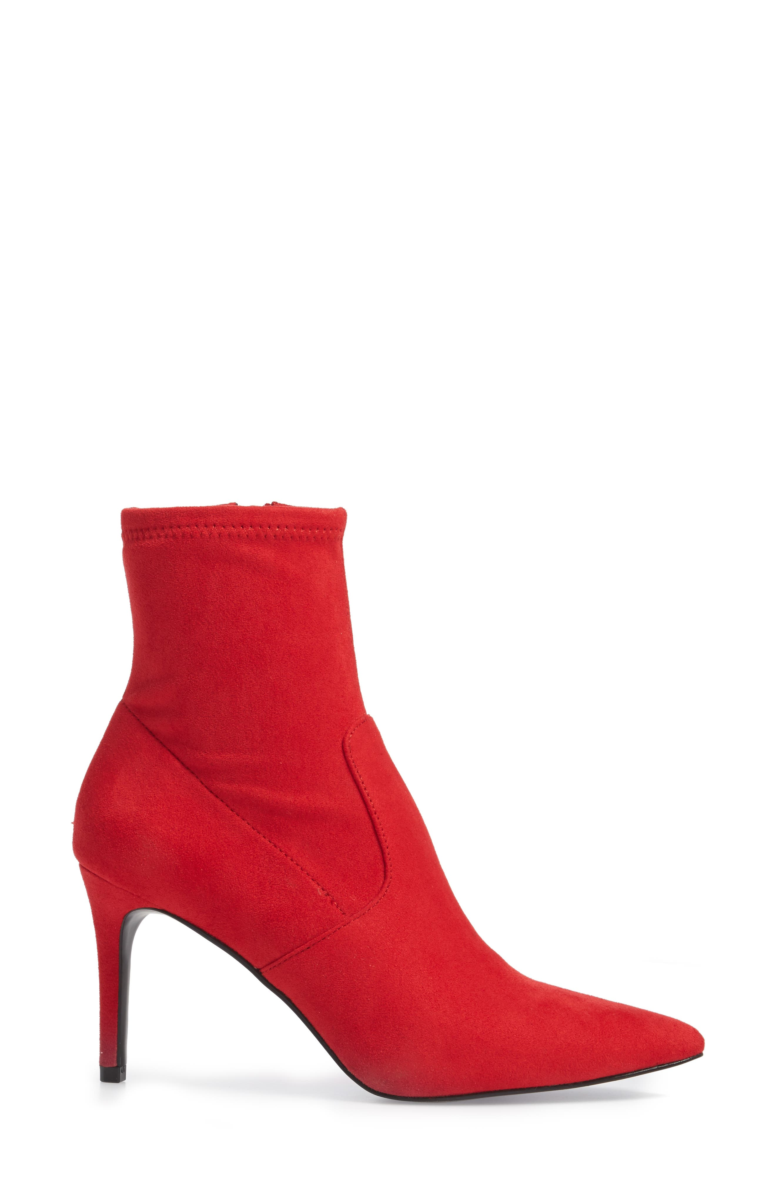 Lava Sock Bootie,                             Alternate thumbnail 3, color,                             Red