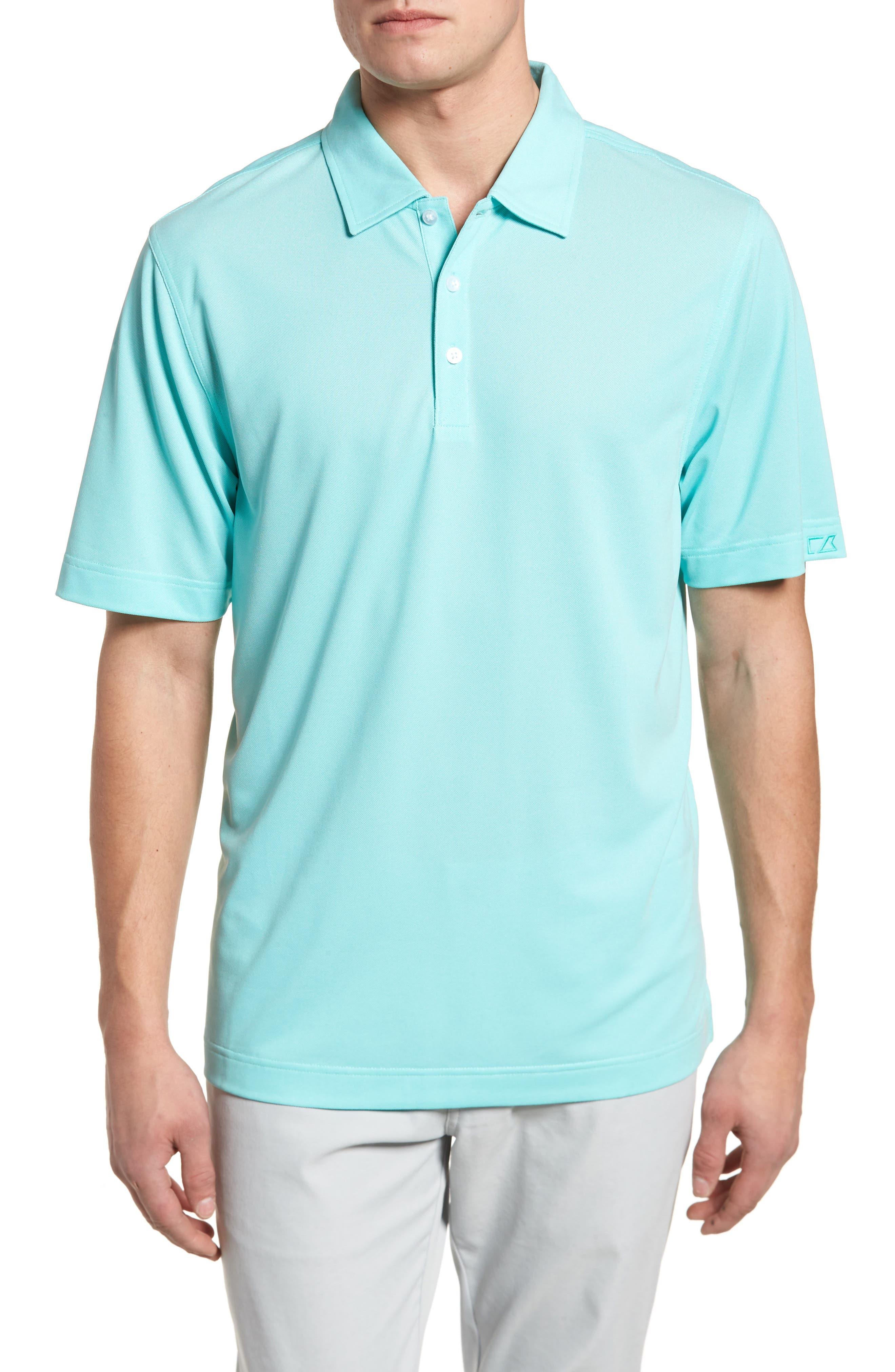 Alternate Image 1 Selected - Cutter & Buck 'Blaine Oxford' Moisture Wicking Dry Tec Polo