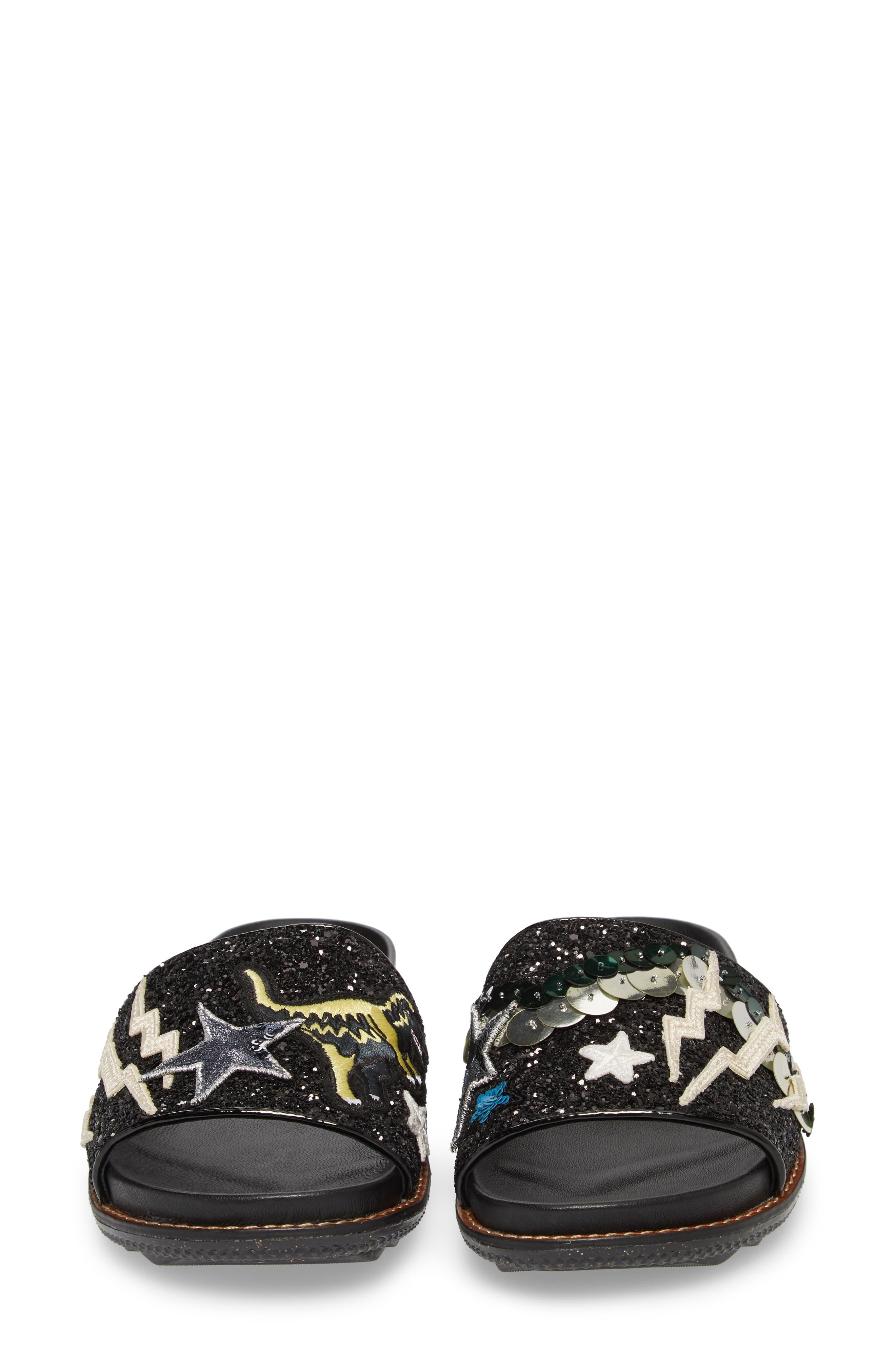 Alternate Image 5  - COACH Patch Sport Slide Sandal (Women)
