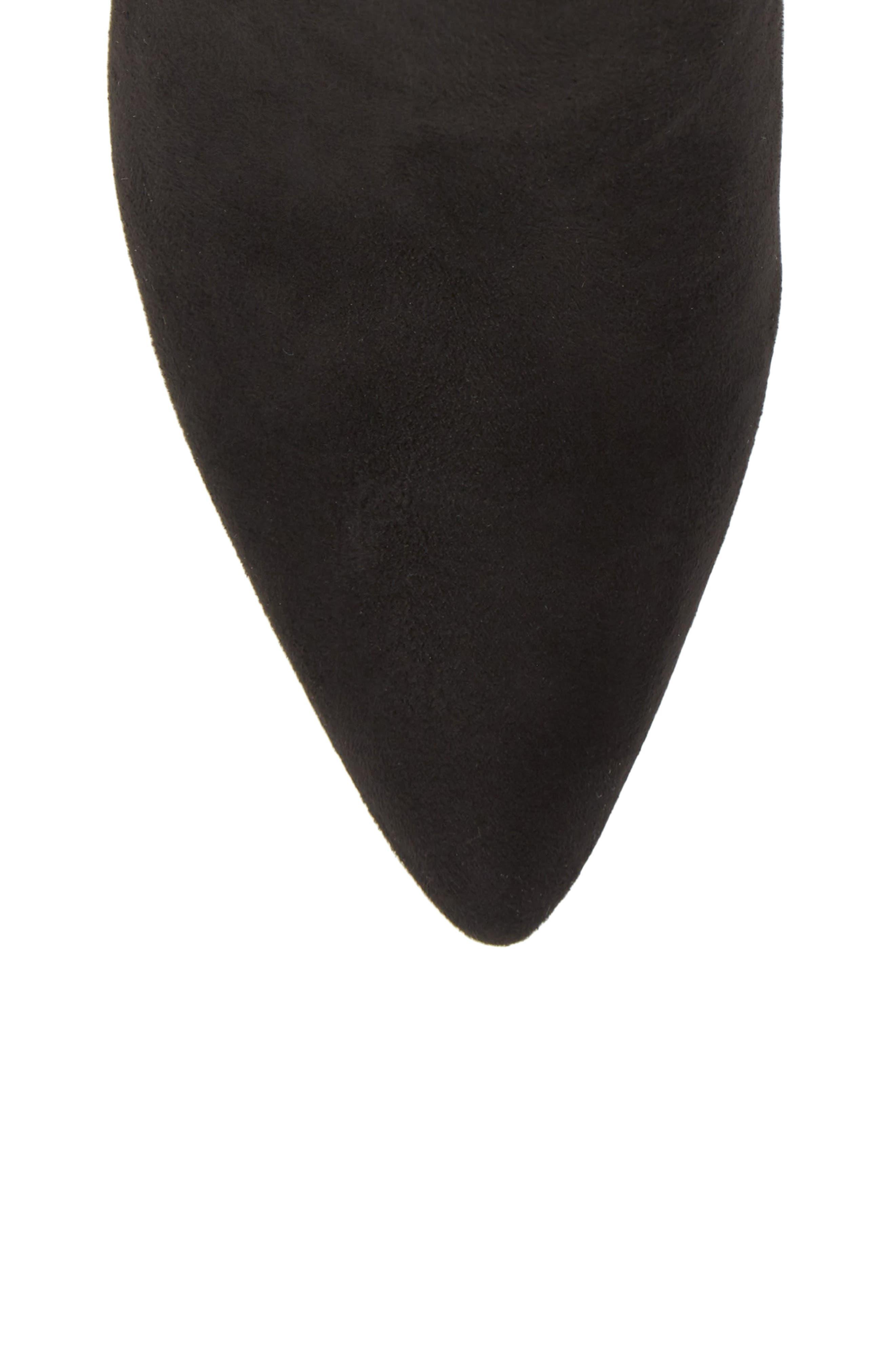Lava Sock Bootie,                             Alternate thumbnail 5, color,                             Black