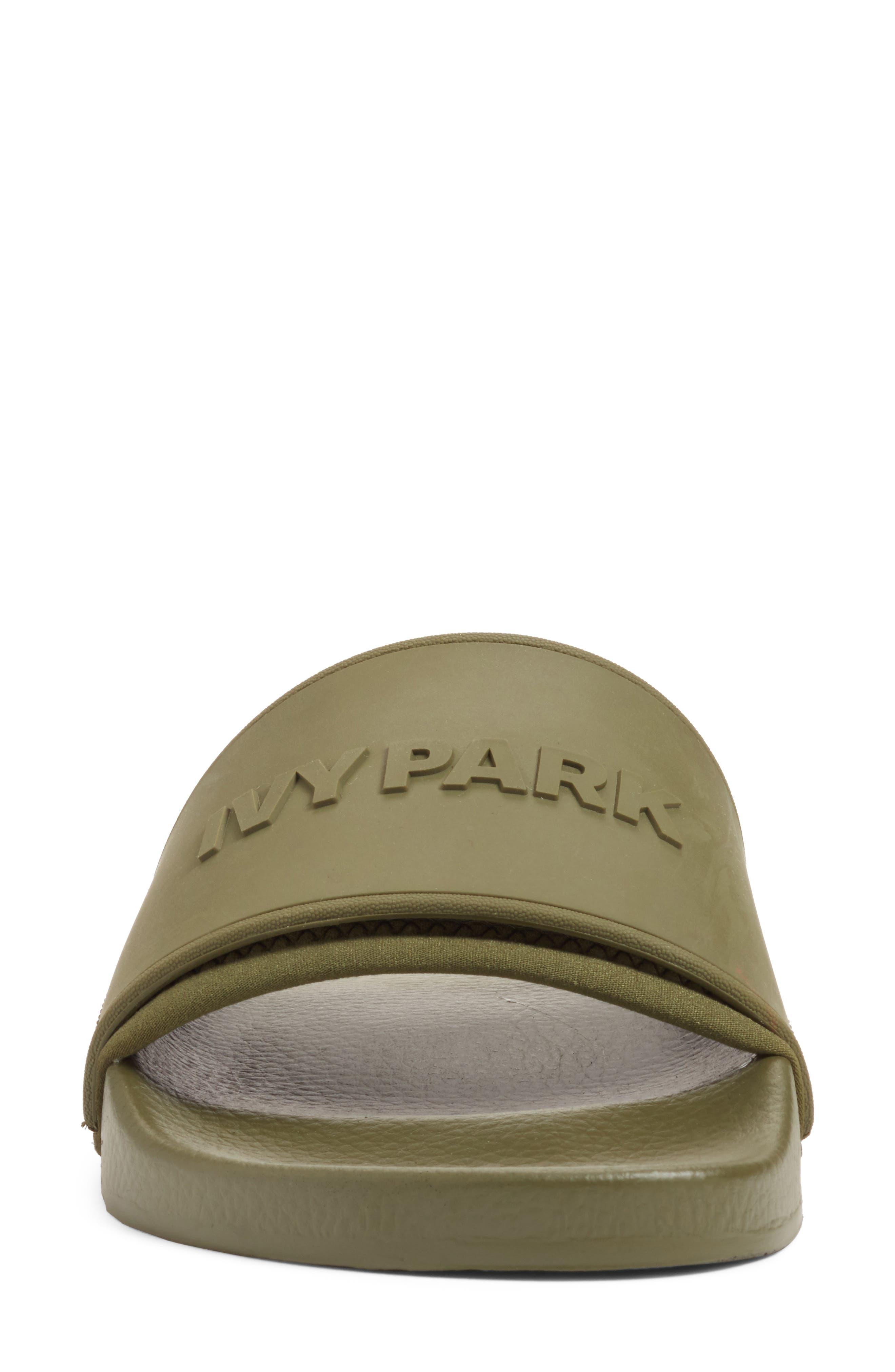 Alternate Image 4  - IVY PARK® Embossed Logo Sock Slide Sandal (Women)