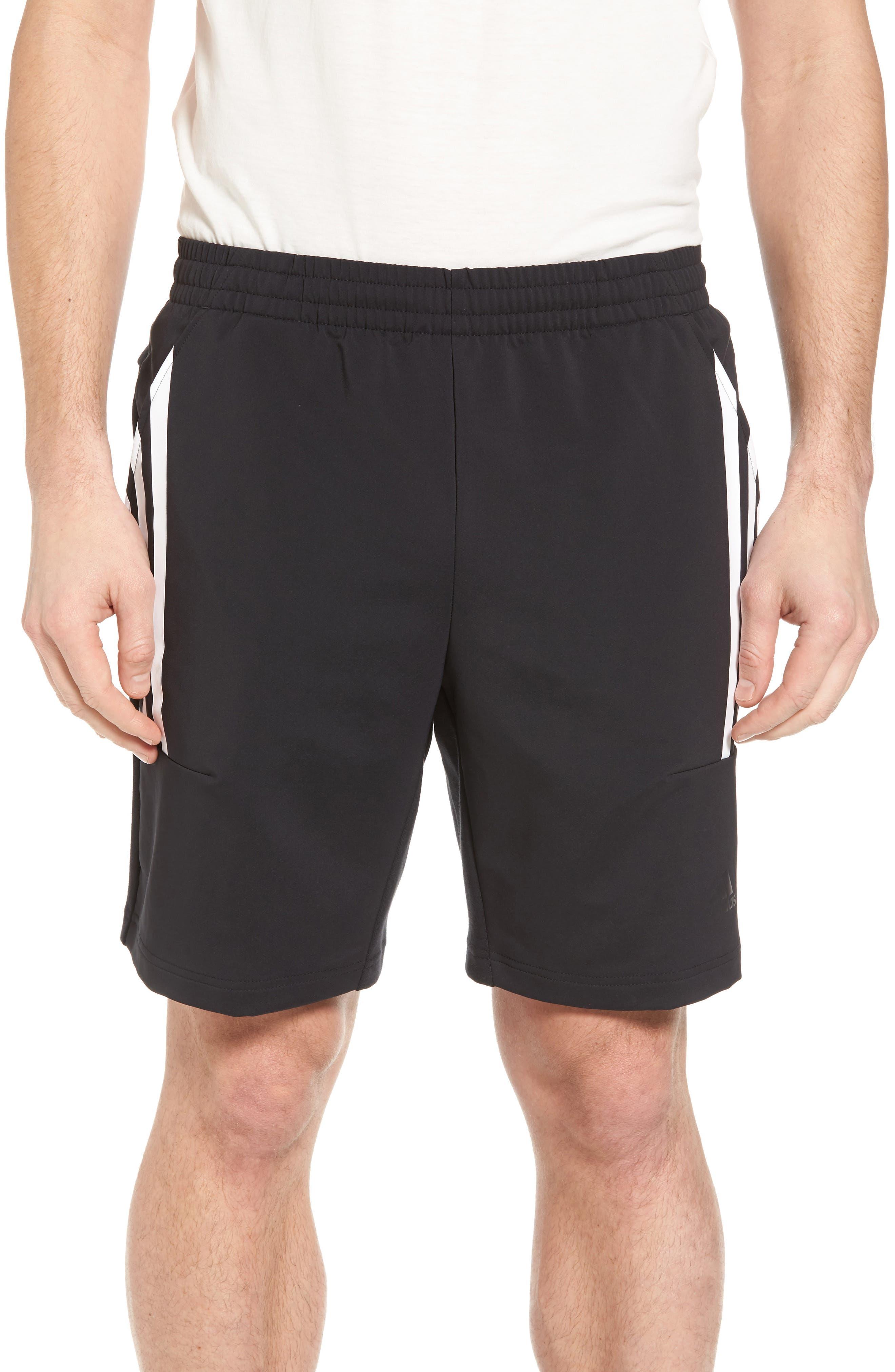 adidas SQD Shorts. BLACK; GREY