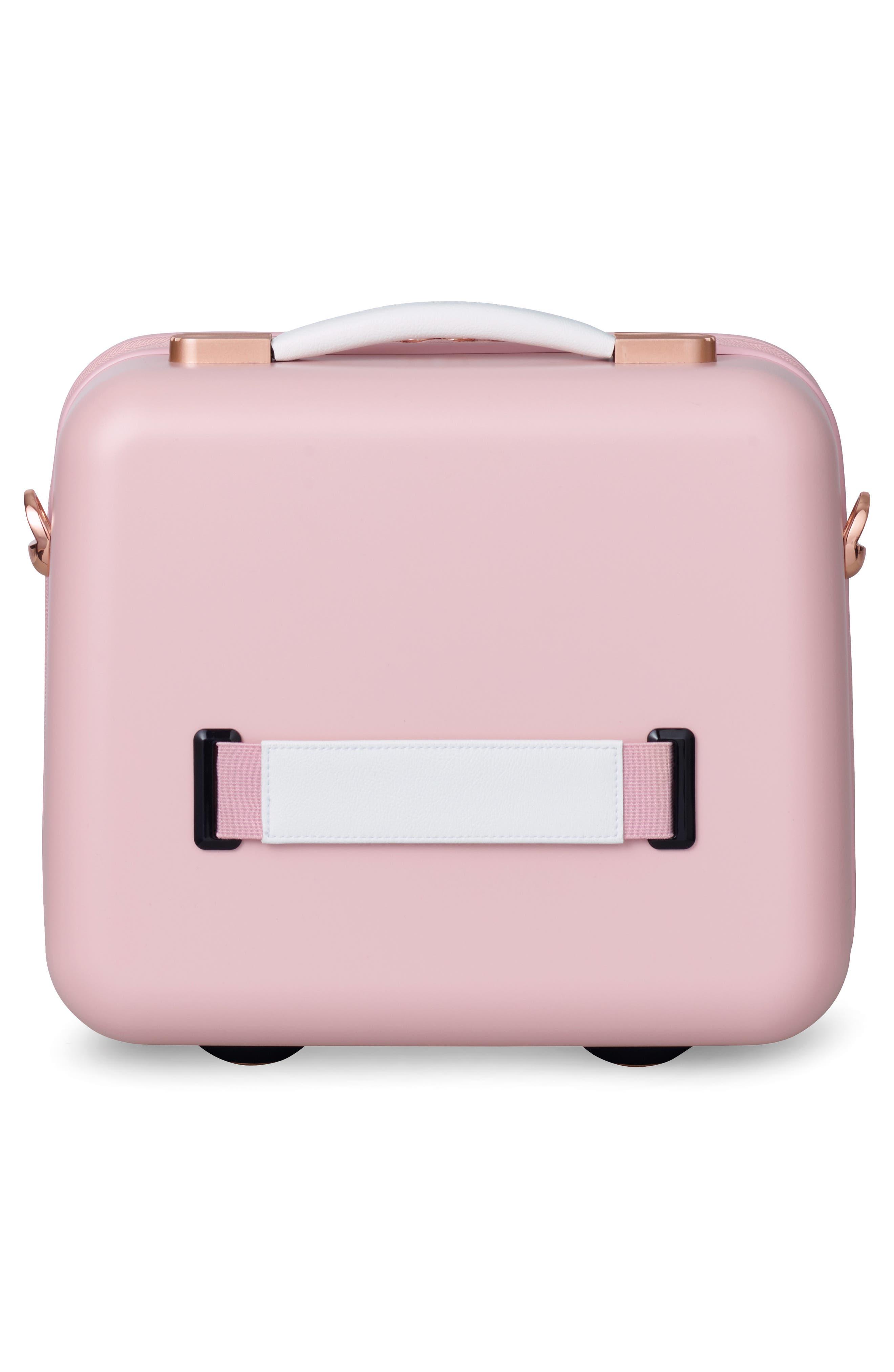 Beau Hardshell Vanity Case,                             Alternate thumbnail 2, color,                             Pink
