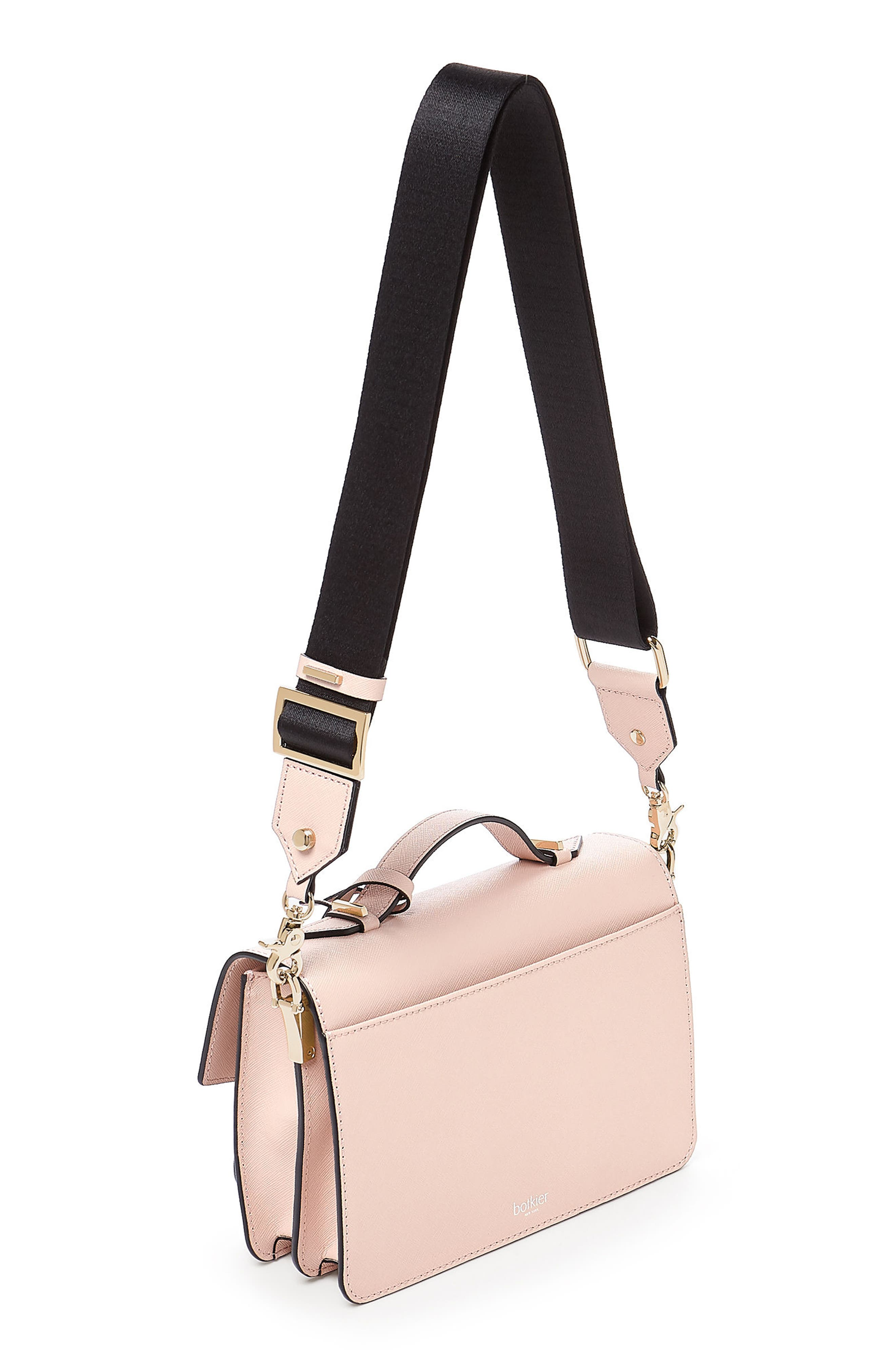 Cobble Hill Leather Crossbody Bag,                             Alternate thumbnail 2, color,                             Blossom