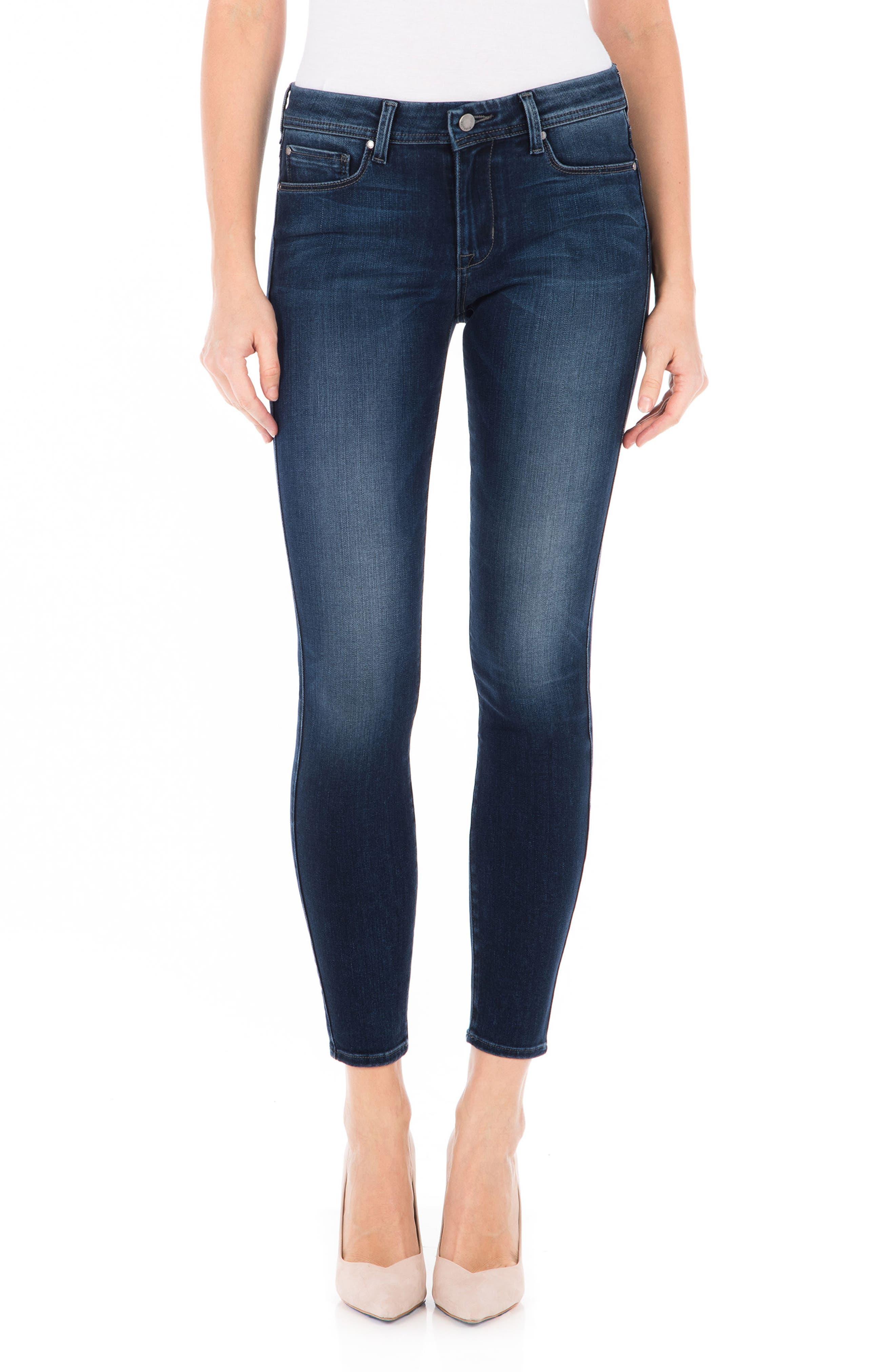 Fidelity Denim Sola Skinny Jeans (Blue Suede)