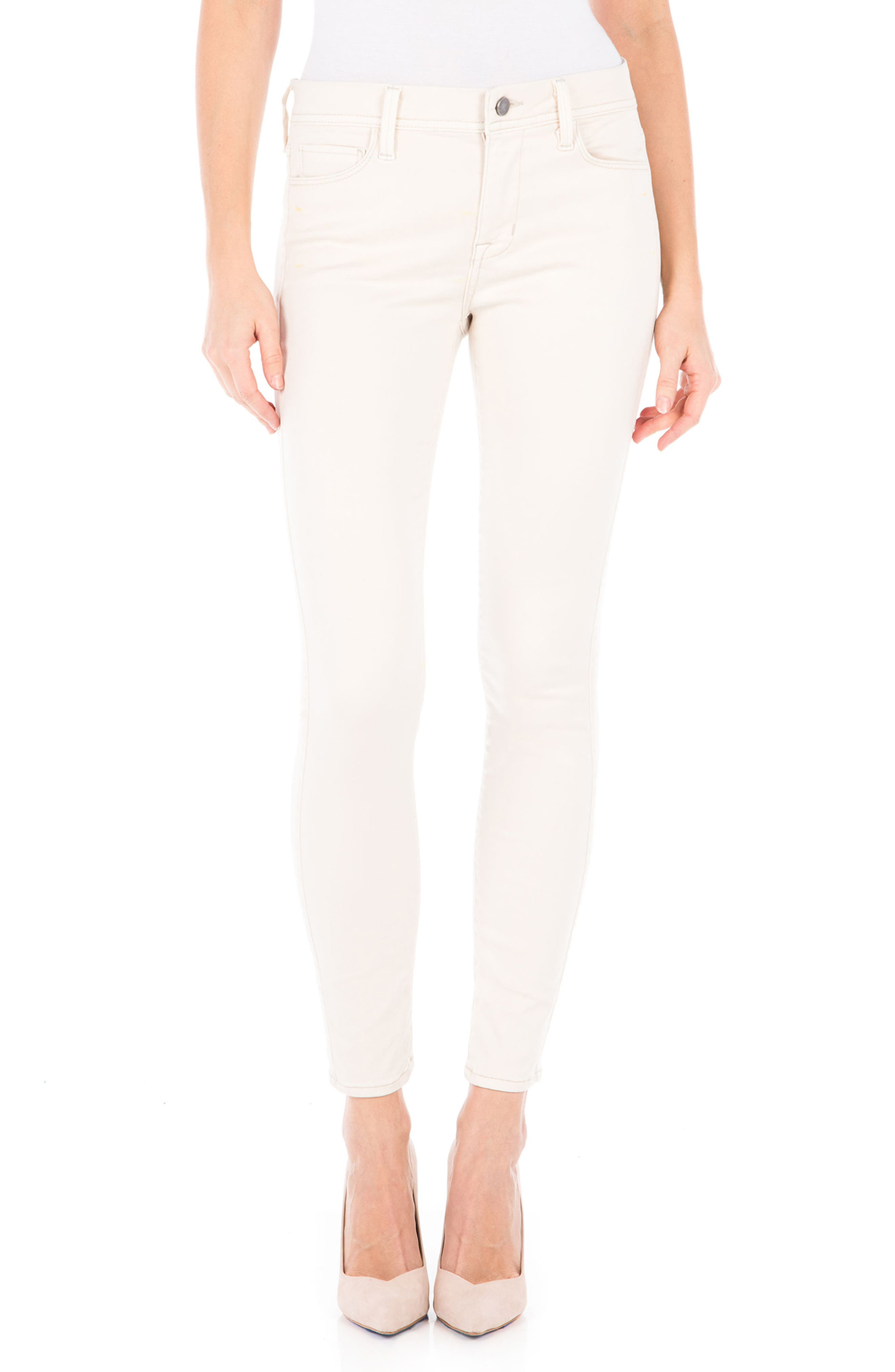 Main Image - Fidelity Denim Sola Skinny Jeans (White Rabbit)