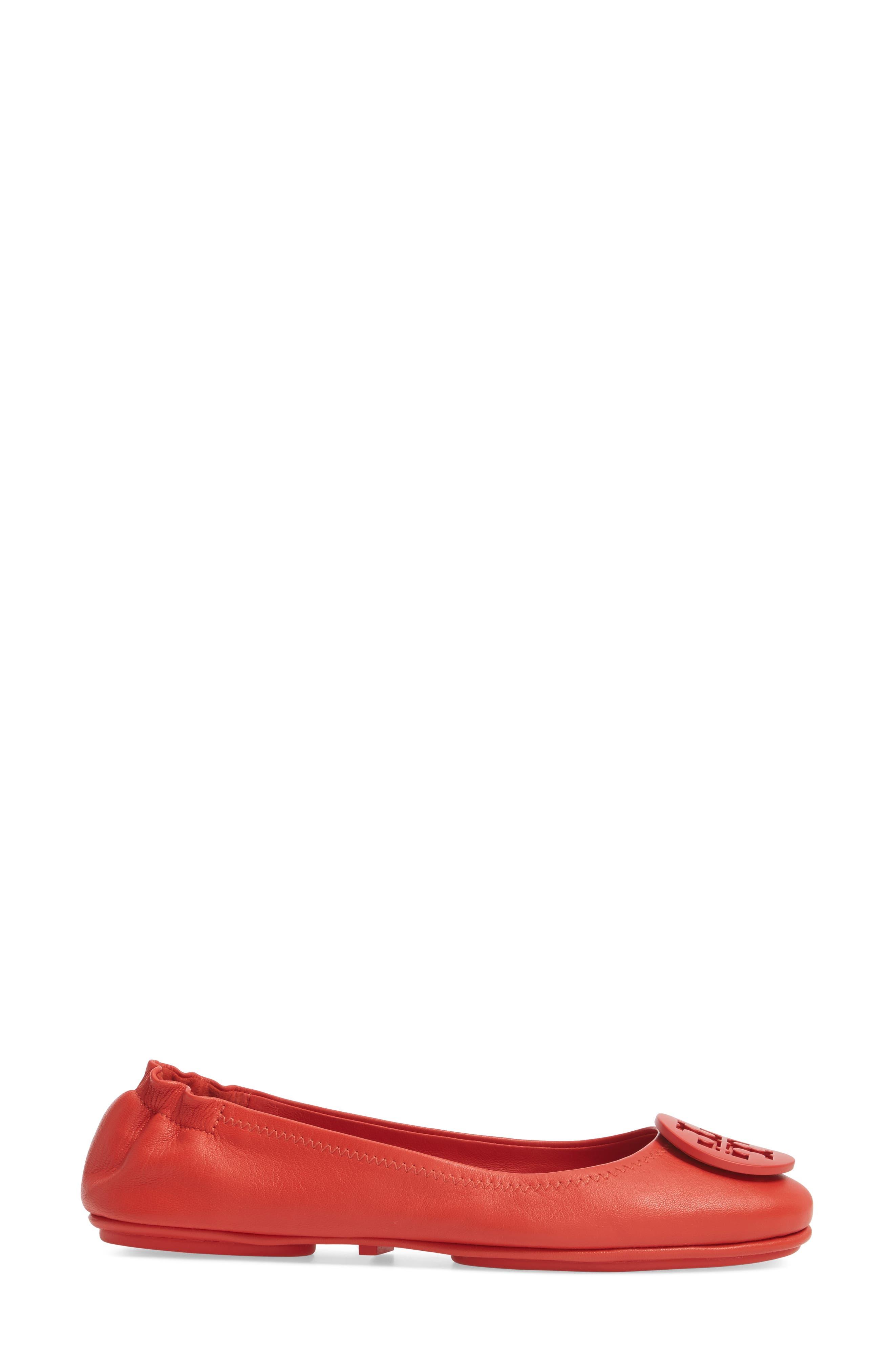 Alternate Image 3  - Tory Burch 'Minnie' Travel Ballet Flat (Women)