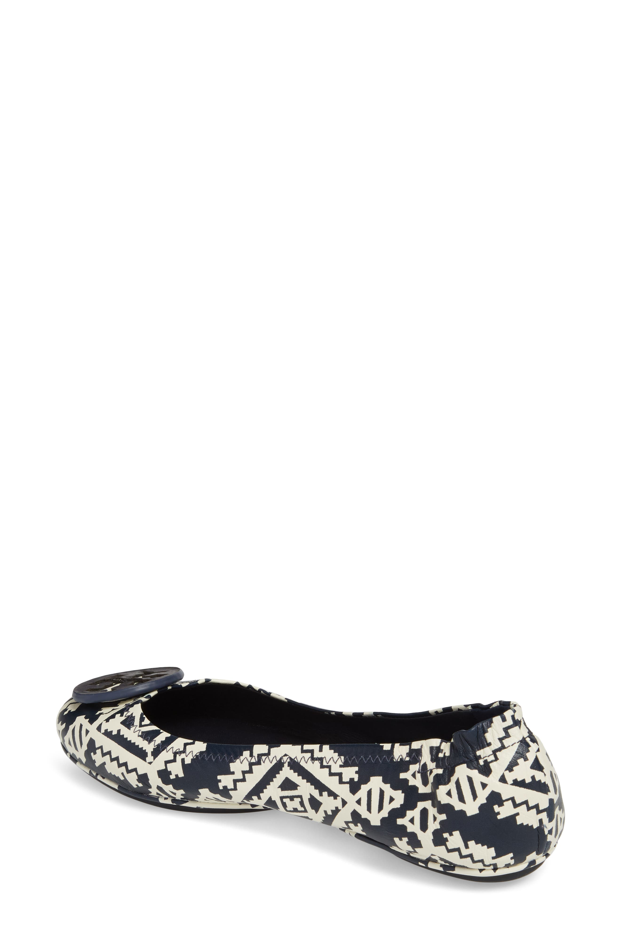 'Minnie' Travel Ballet Flat,                             Alternate thumbnail 2, color,                             Tapestry Geo