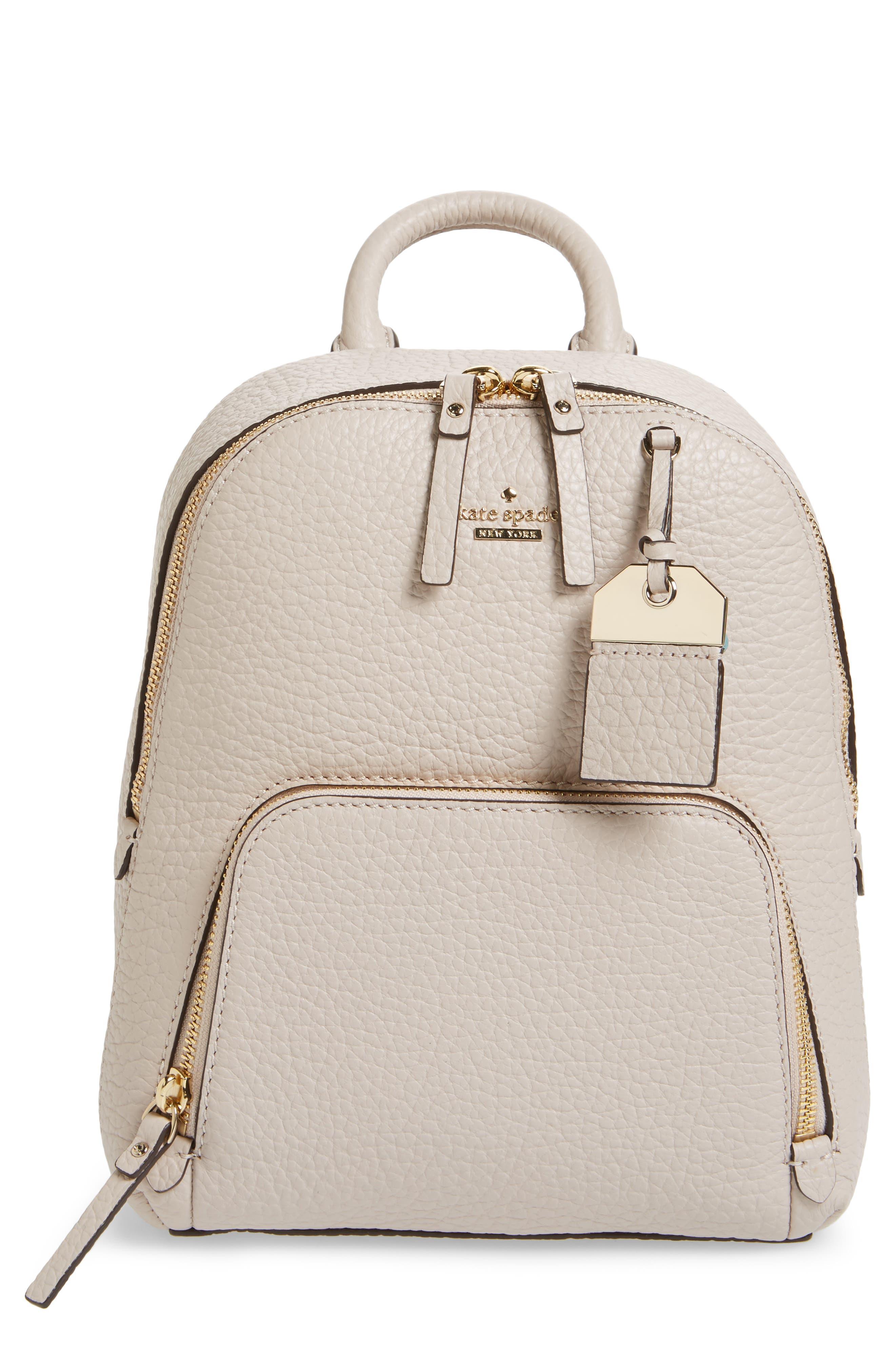 Alternate Image 1 Selected - kate spade new york carter street - caden leather backpack