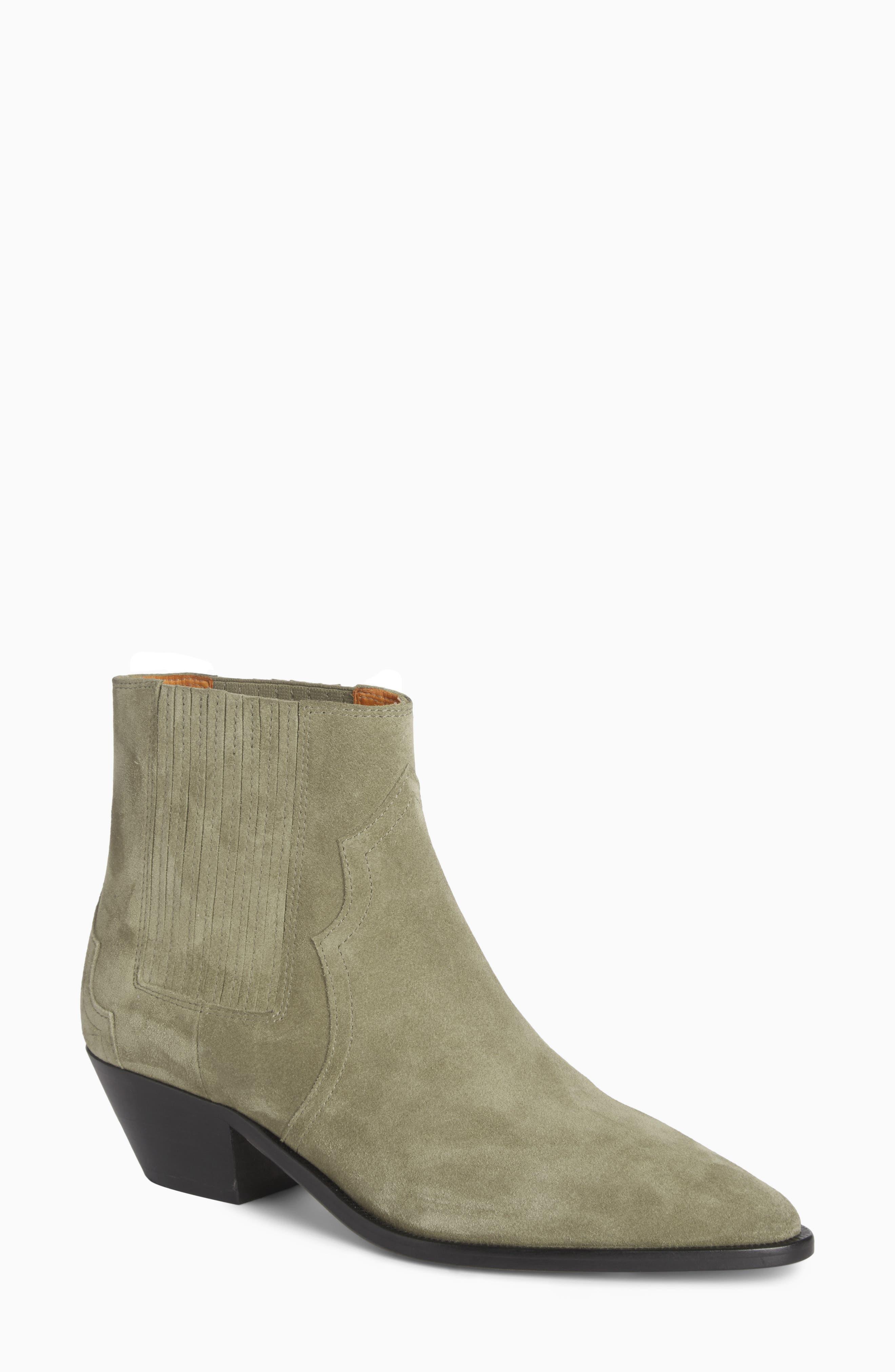Derlyn Pointy Toe Boot,                         Main,                         color, Khaki