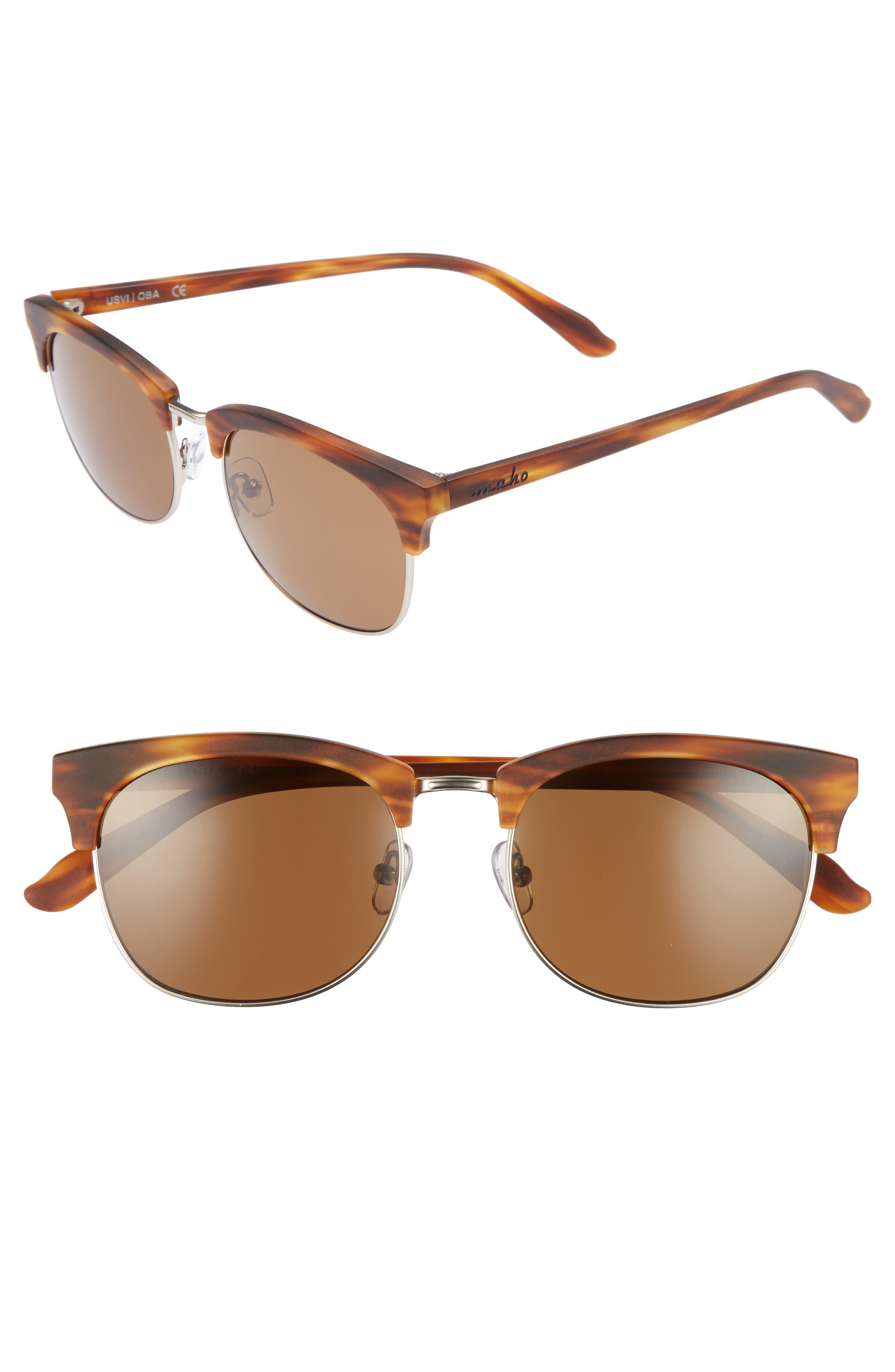 Maho Mandalay 52mm Polarized Sunglasses
