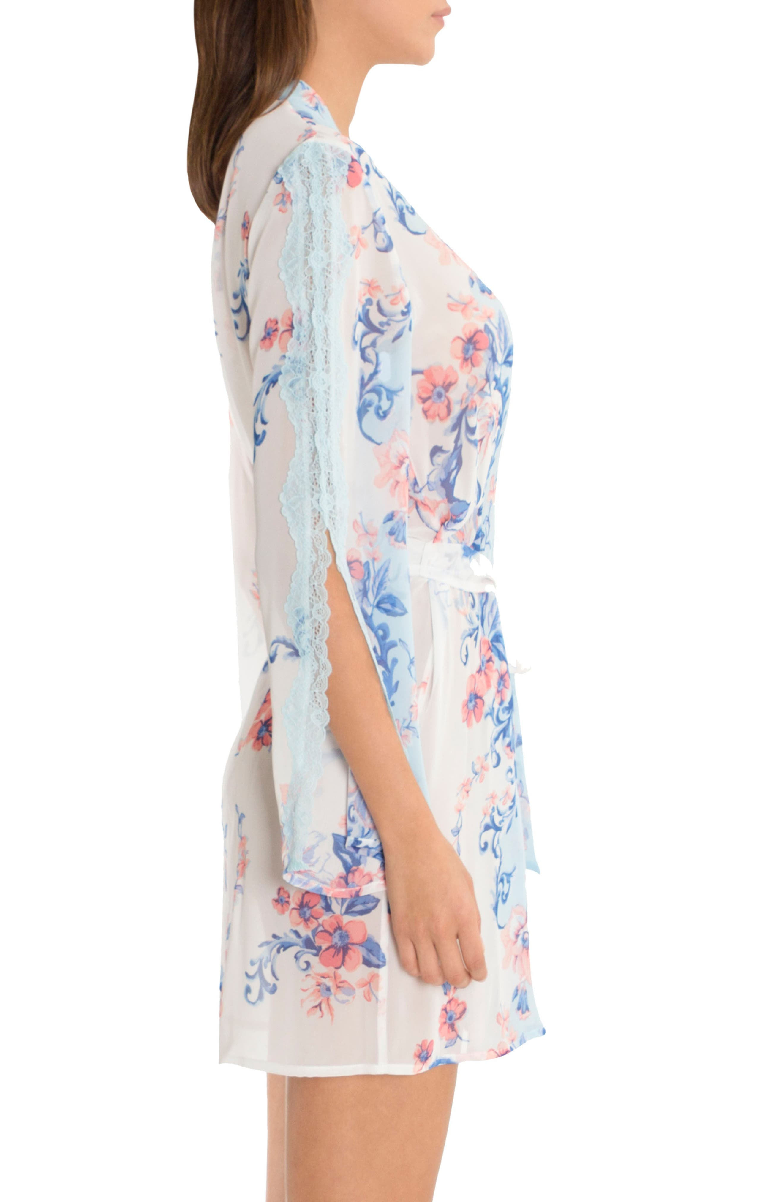 Alternate Image 2  - In Bloom by Jonquil Chiffon Wrap