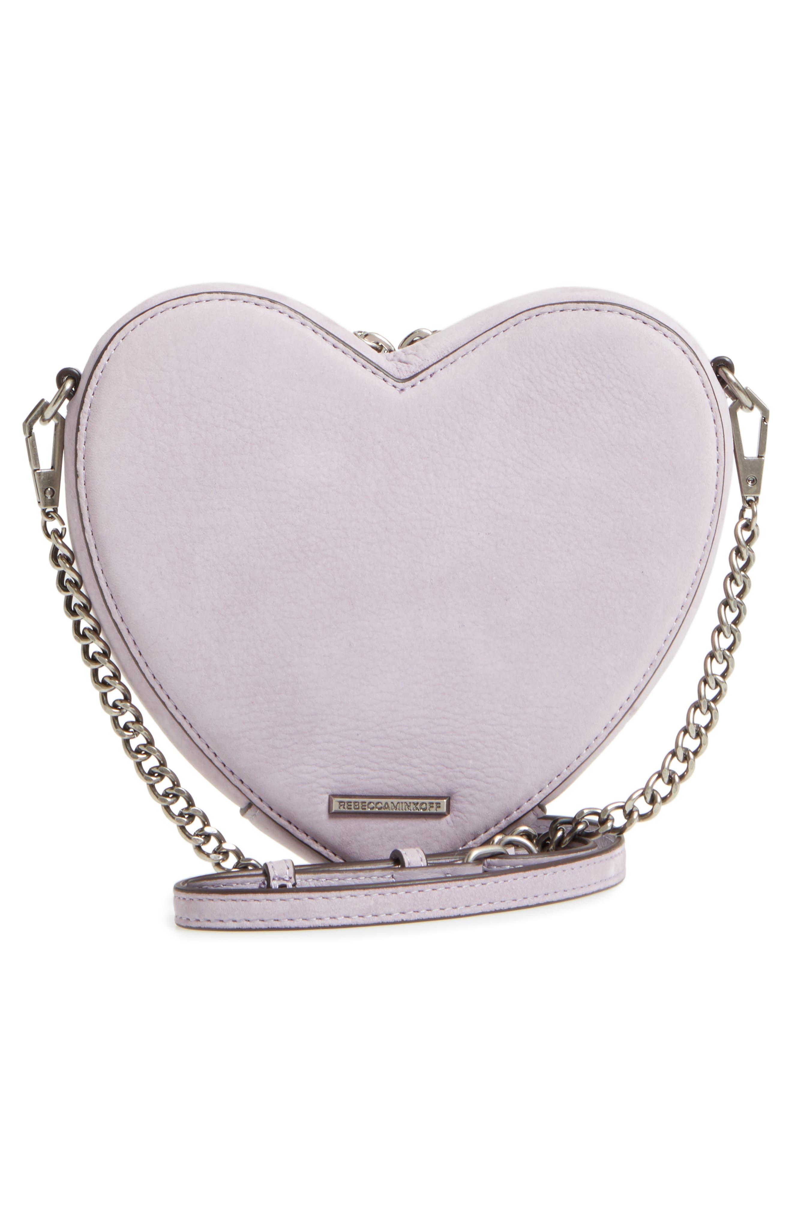 Alternate Image 3  - Rebecca Minkoff Jamie Heart Leather Crossbody Bag