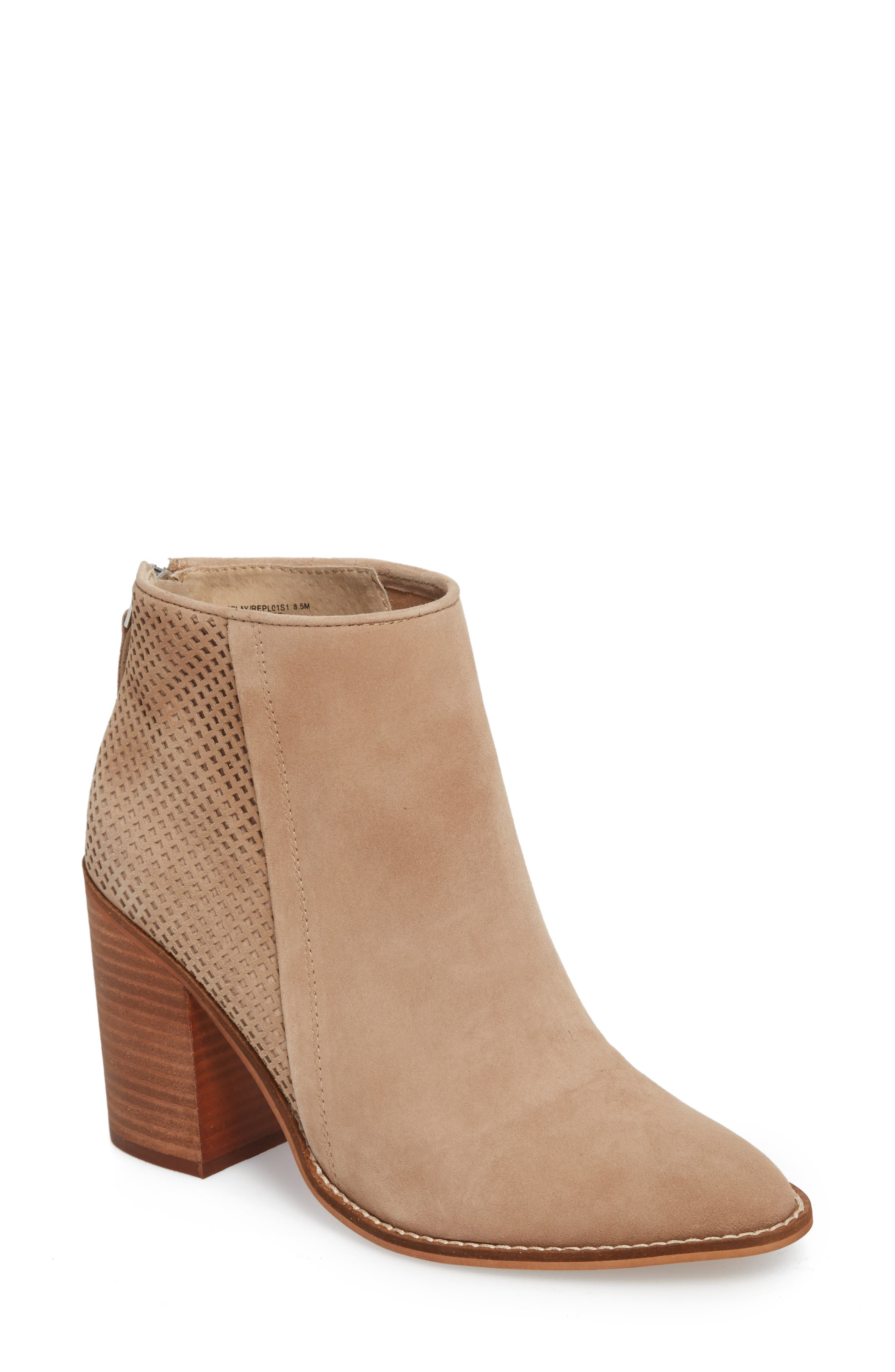 Boots for Women, Booties On Sale in Outlet, Caramel, Suede leather, 2017, 5.5 6 7.5 Car Shoe