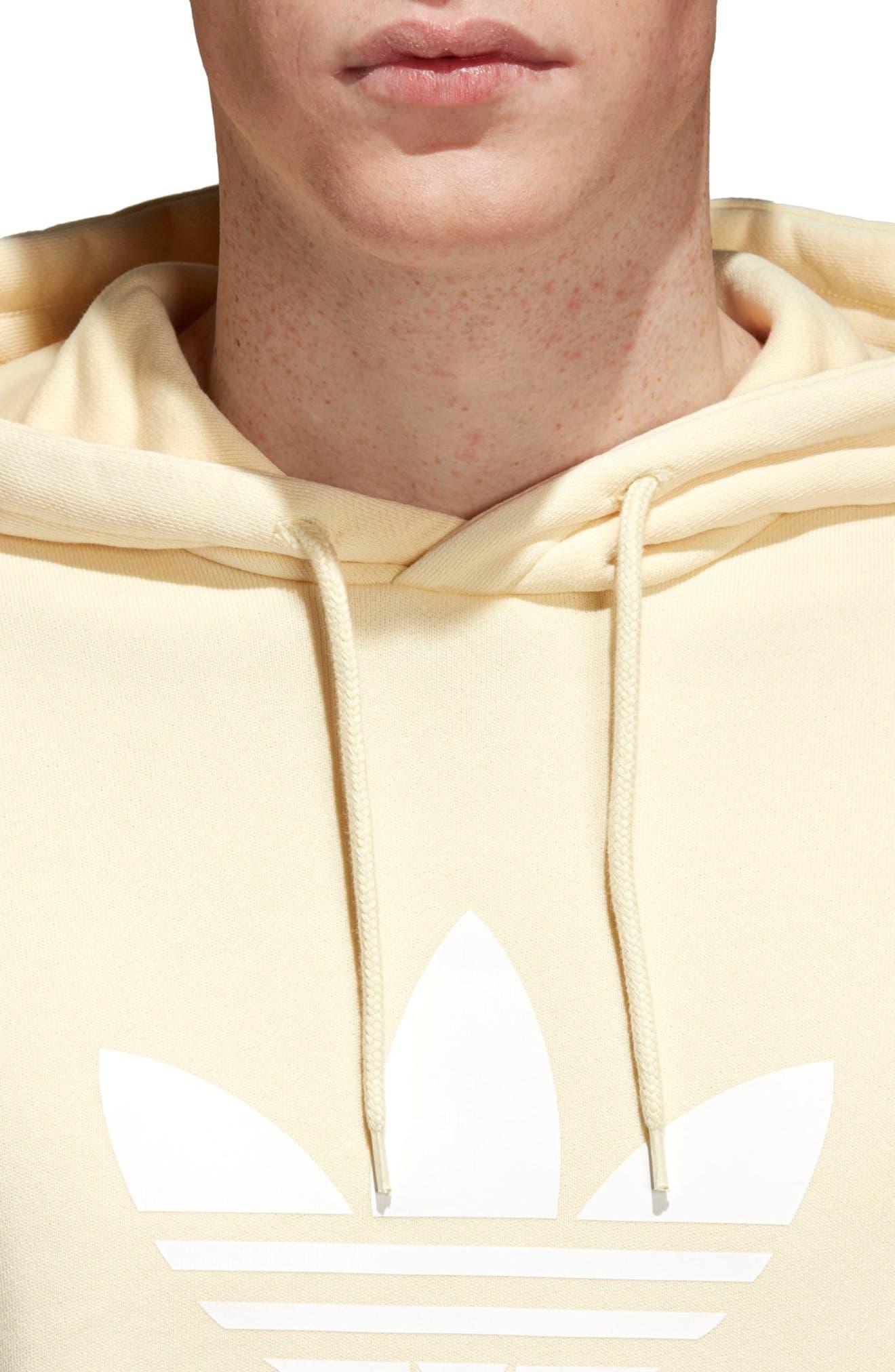 Alternate Image 4  - adidas Originals Trefoil Logo Hoodie