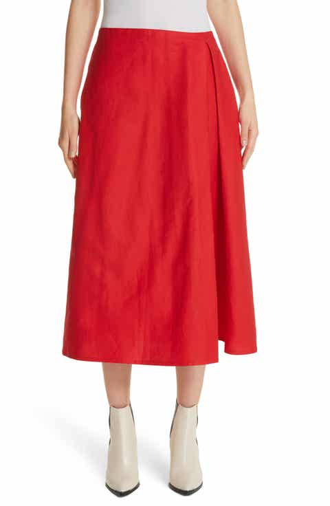 Sofie D'Hoore Faux Wrap Skirt Best Price