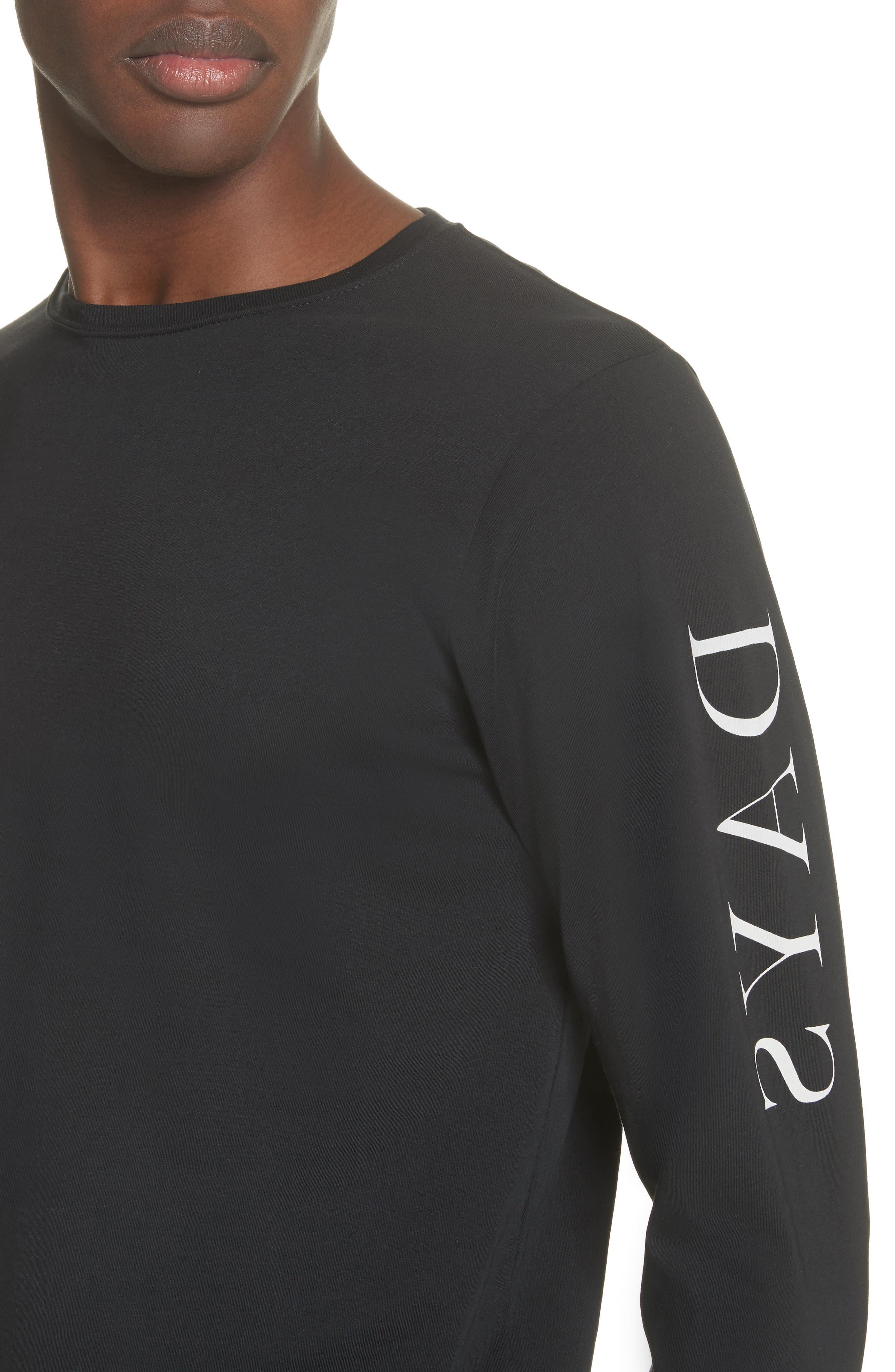 Alternate Image 4  - Saturdays NYC Reverse Print Long Sleeve T-Shirt