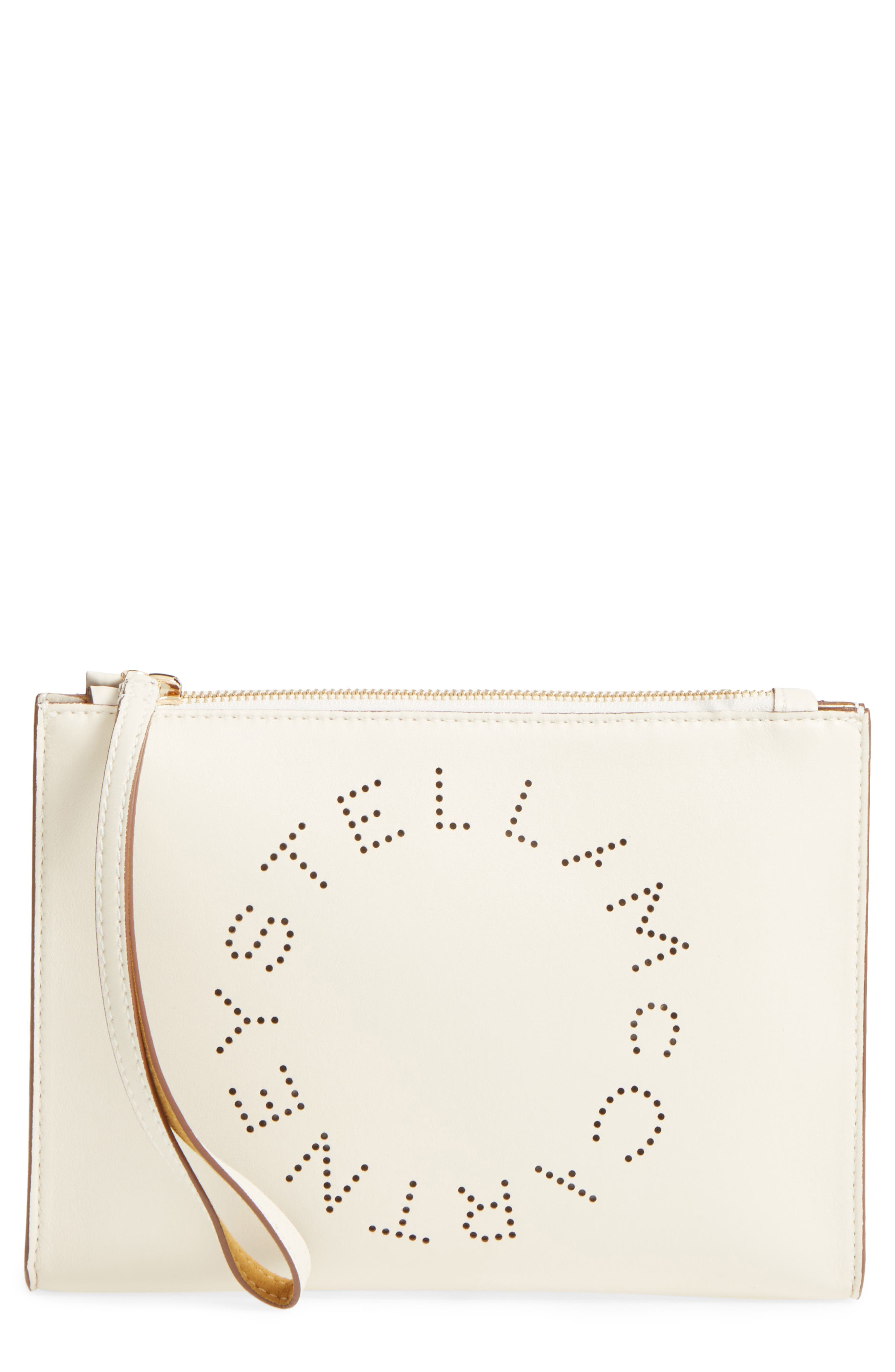 Alternate Image 1 Selected - Stella McCartney Alter Faux Nappa Leather Wristlet Clutch