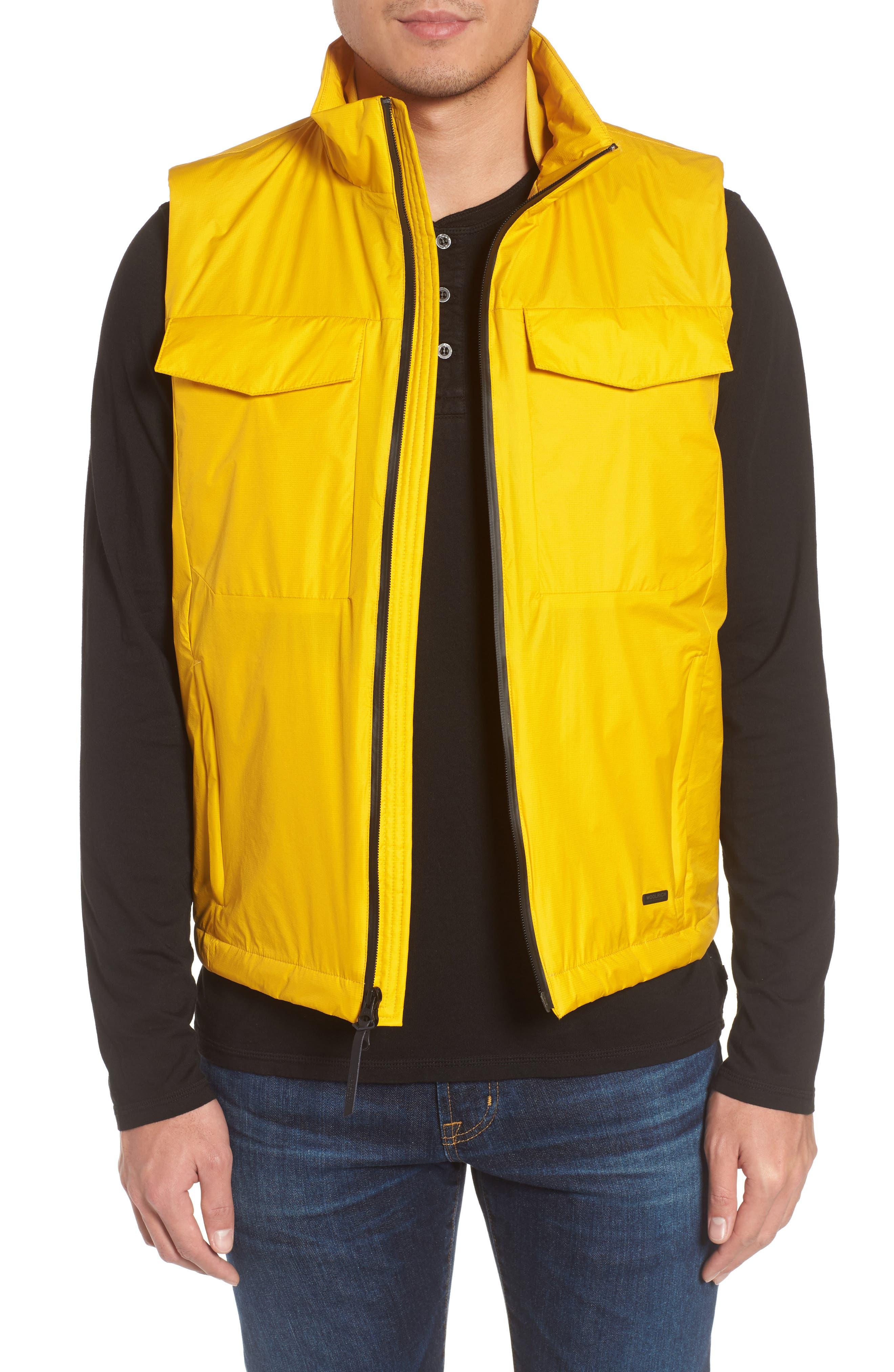 & Bros. Bering Vest,                             Main thumbnail 1, color,                             Golden Spice