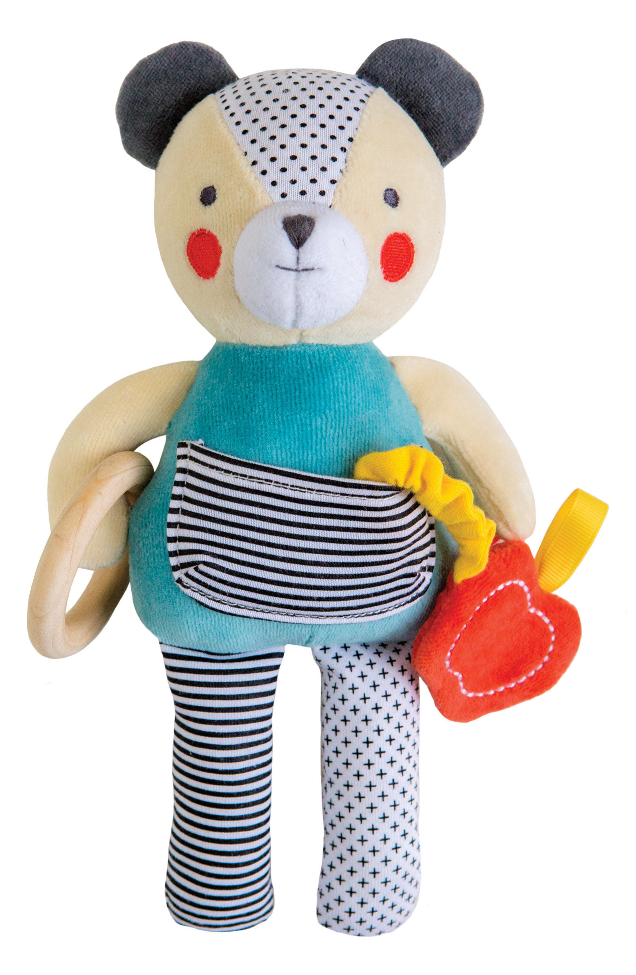 Petit Collage Busy Bear Stuffed Activity Doll