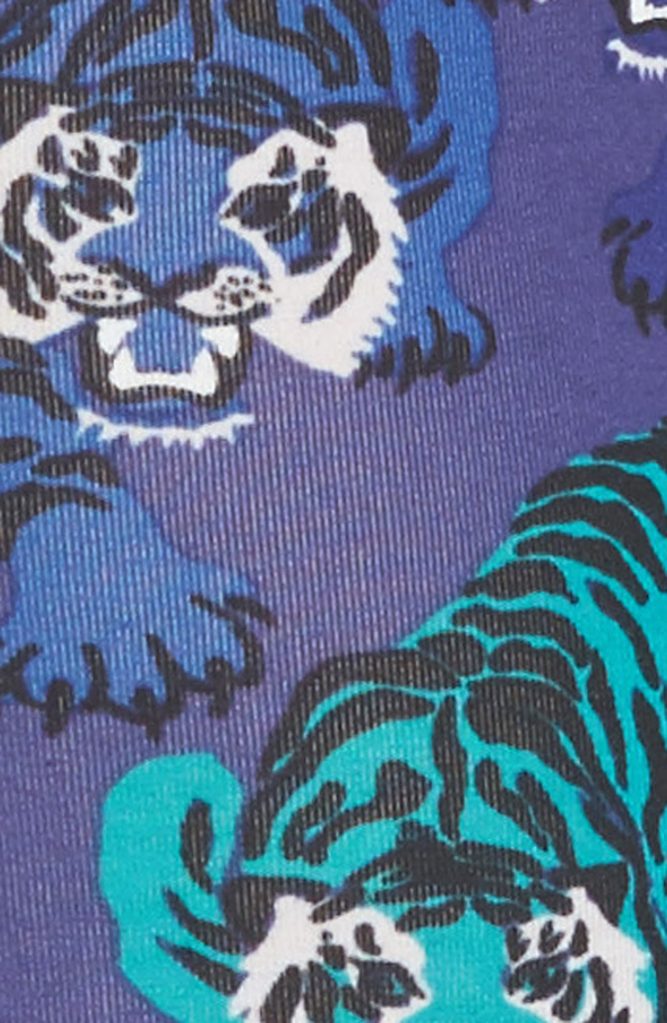 Tigers Stretch Cotton Trunks,                             Alternate thumbnail 4, color,                             Blue