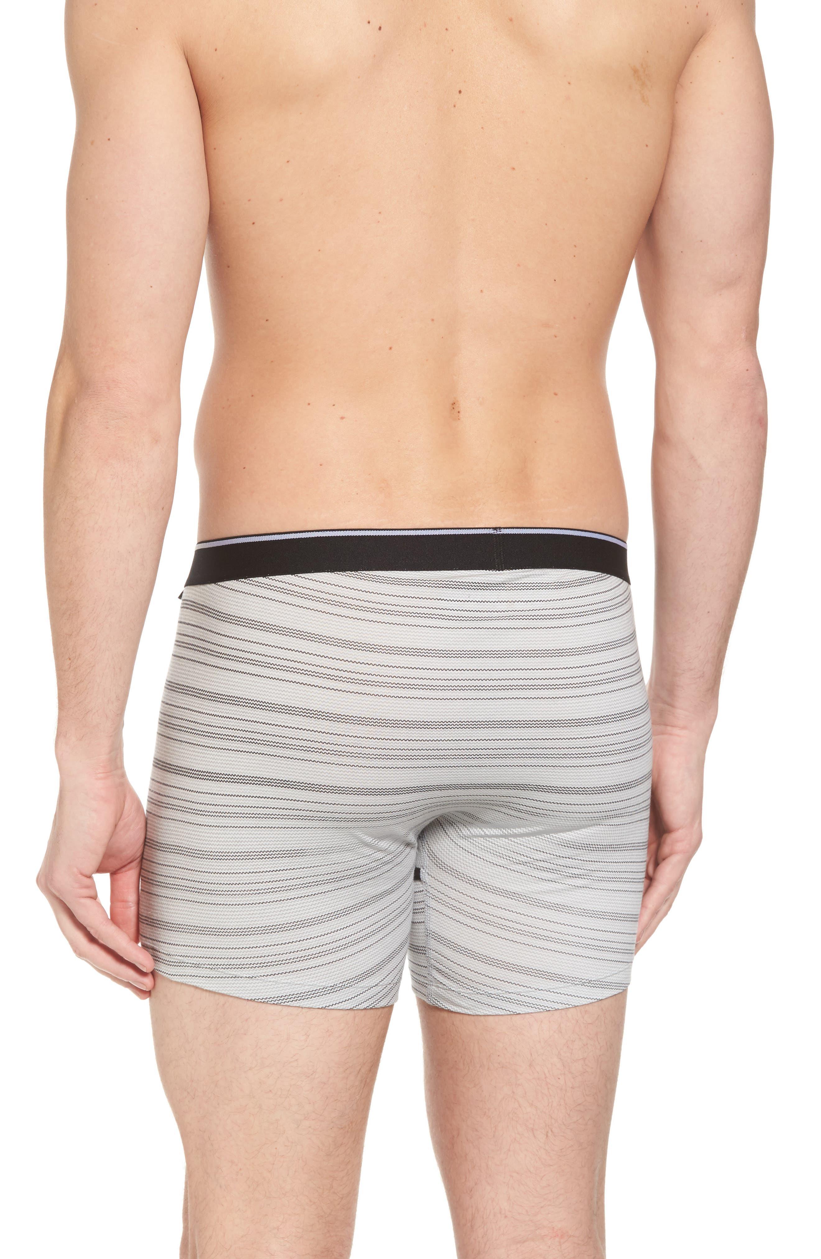 Boxer Briefs,                             Alternate thumbnail 2, color,                             Grey- Black Zig Zag Stripe