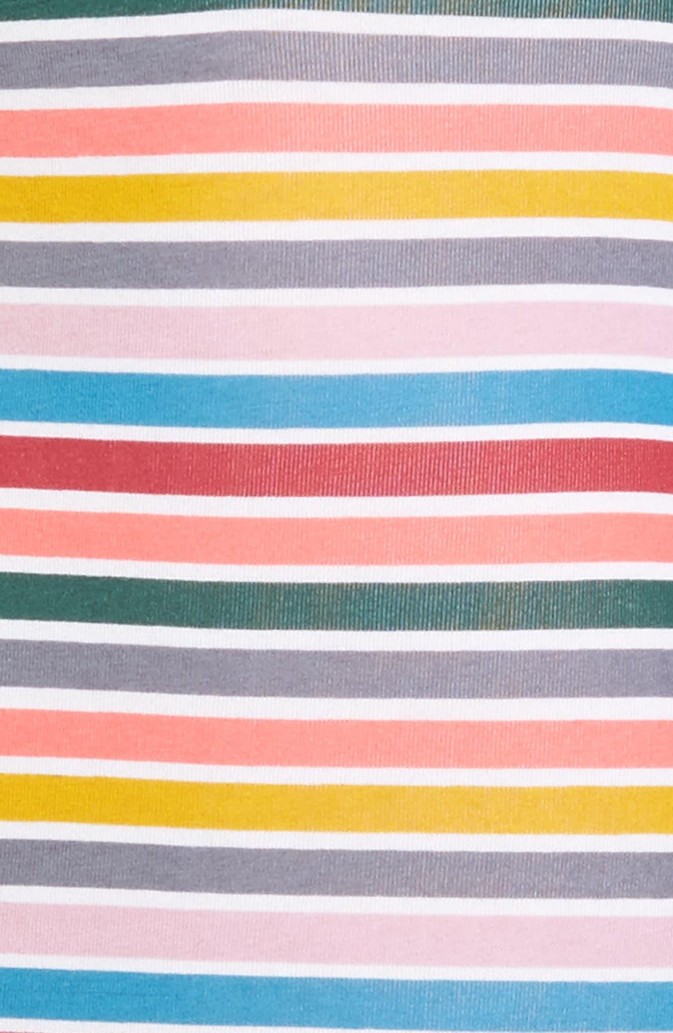 Multistripe Stretch Cotton Trunks,                             Alternate thumbnail 4, color,                             Multi Stripe