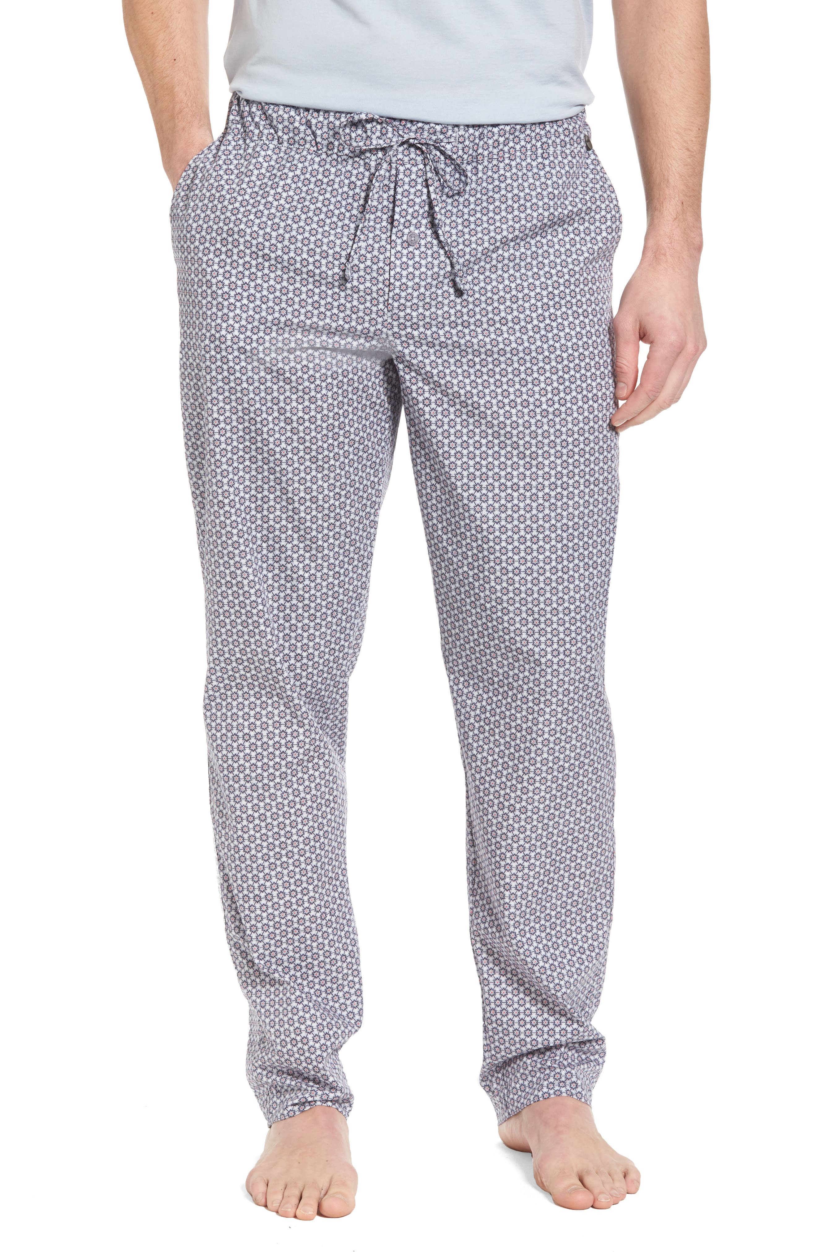 Night & Day Woven Lounge Pants,                             Main thumbnail 1, color,                             Classic Flower Print