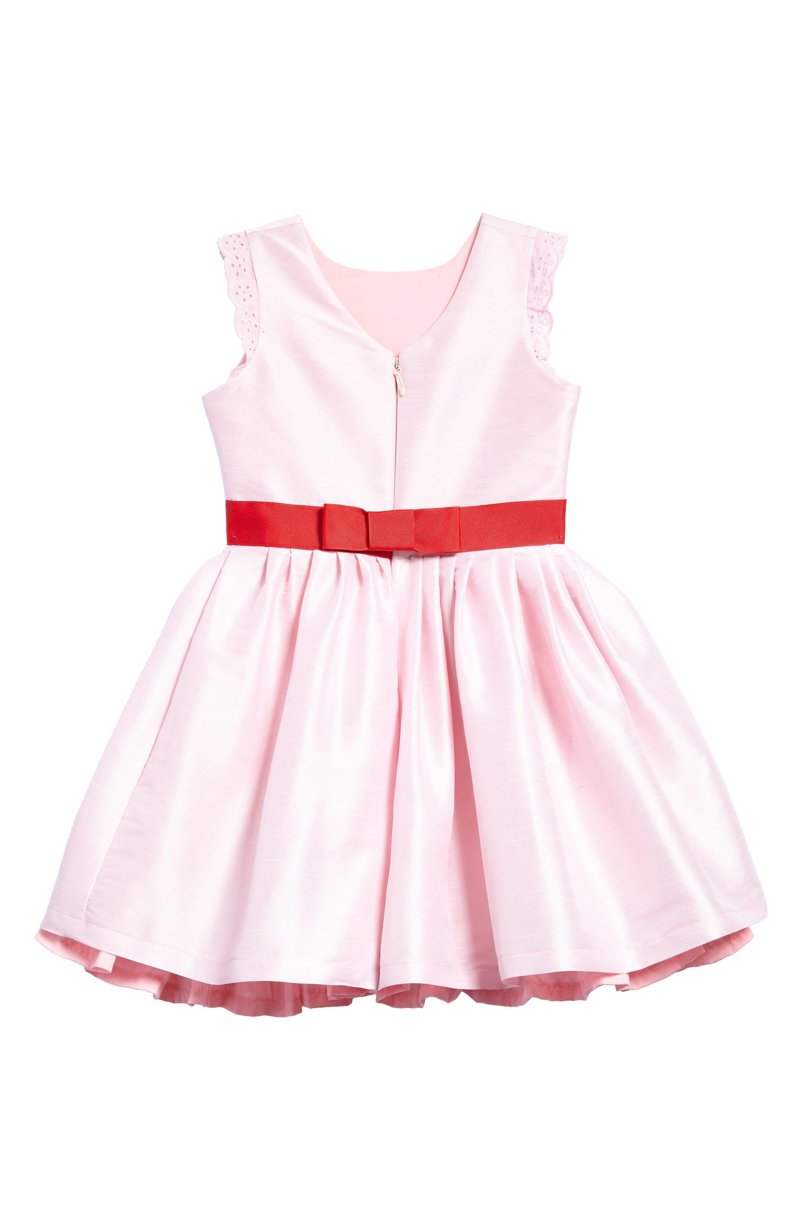 Kisses from Paris Party Dress,                             Alternate thumbnail 2, color,                             Pink