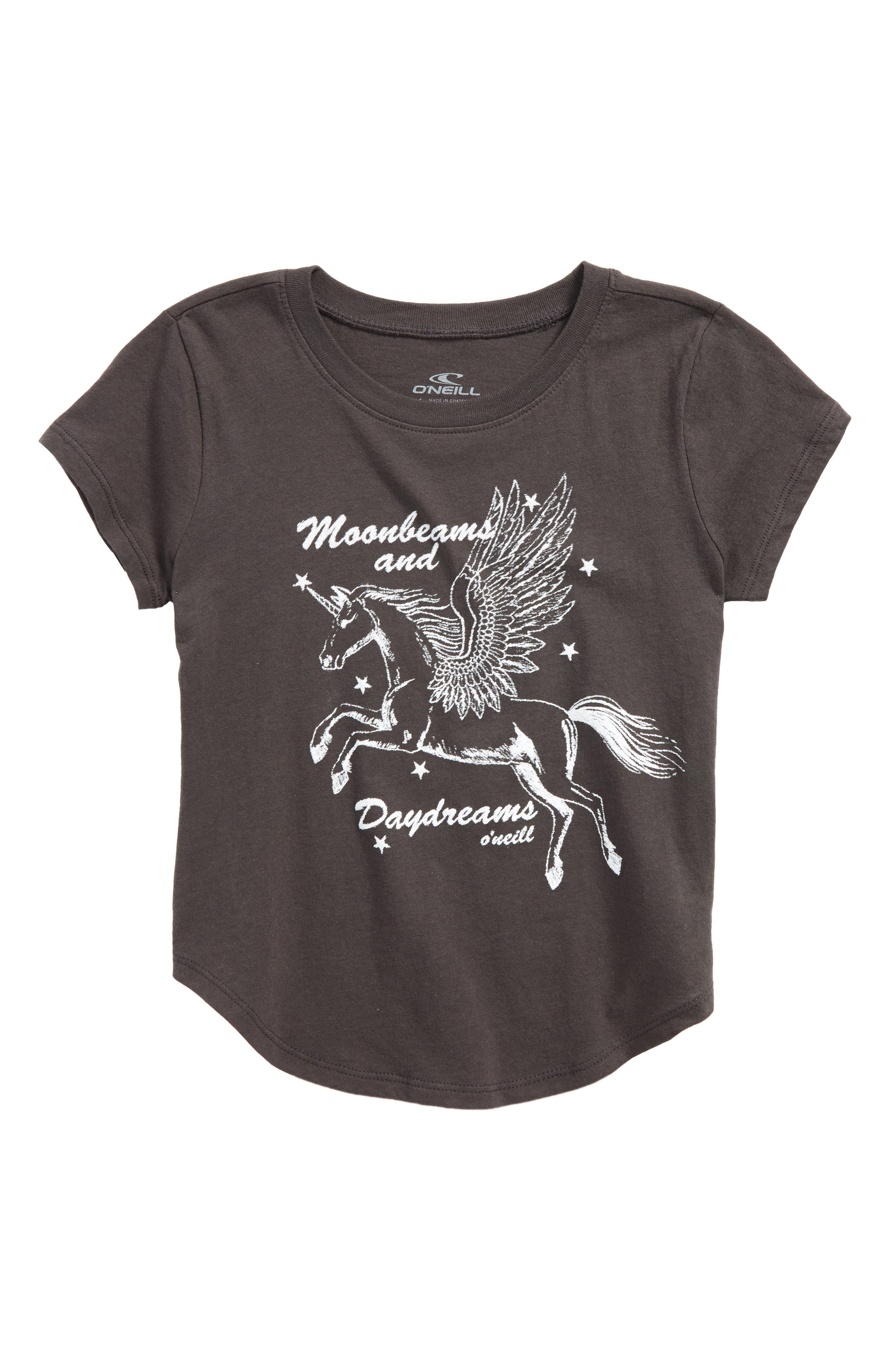 Alternate Image 1 Selected - O'Neill Moonbeams and Daydreams Graphic Tee (Toddler Girls & Little Girls)