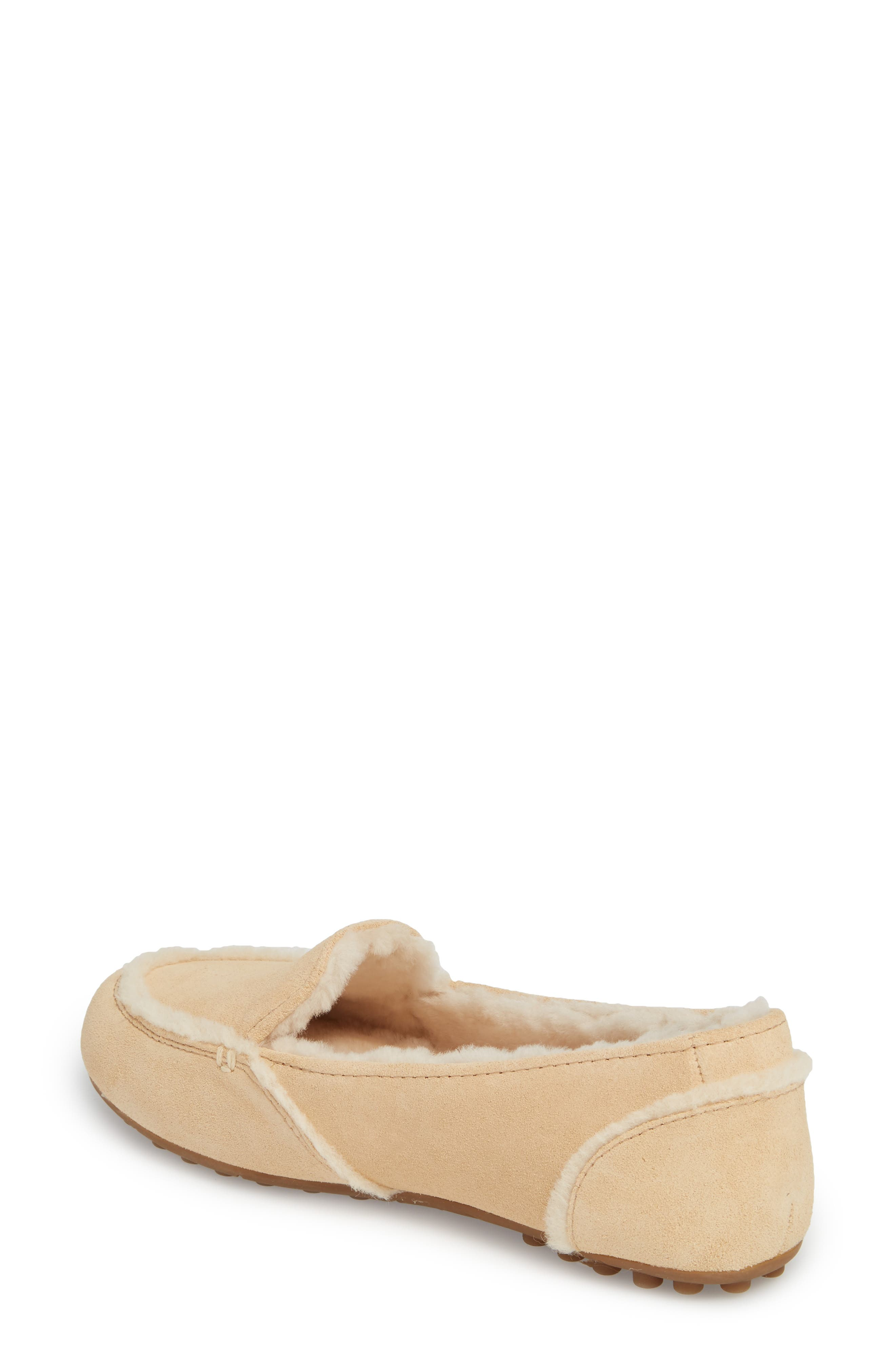 Hailey Slipper,                             Alternate thumbnail 2, color,                             Beige Suede