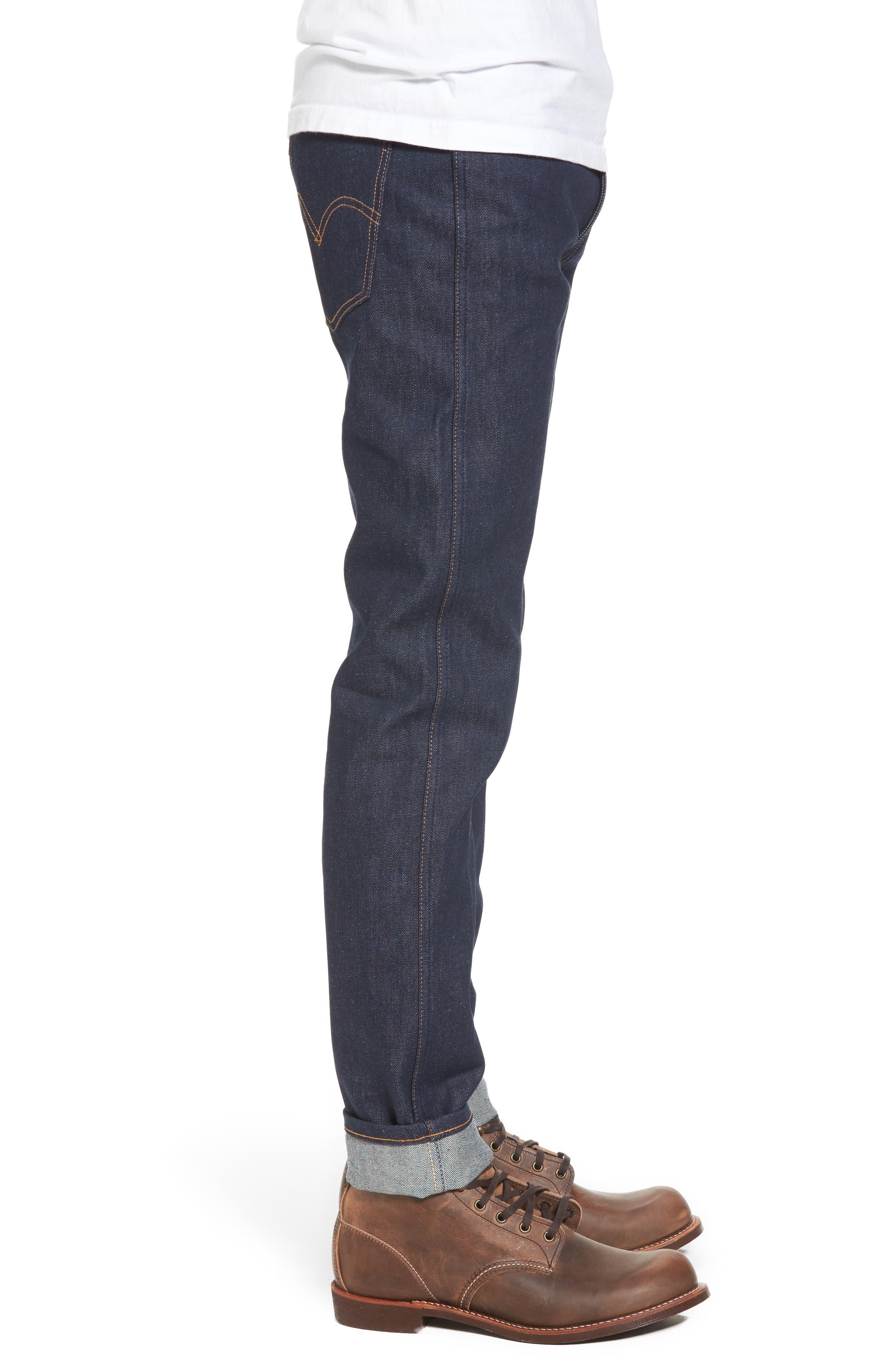 1969 606<sup>™</sup> Slim Fit Jeans,                             Alternate thumbnail 3, color,                             Rigid M8017