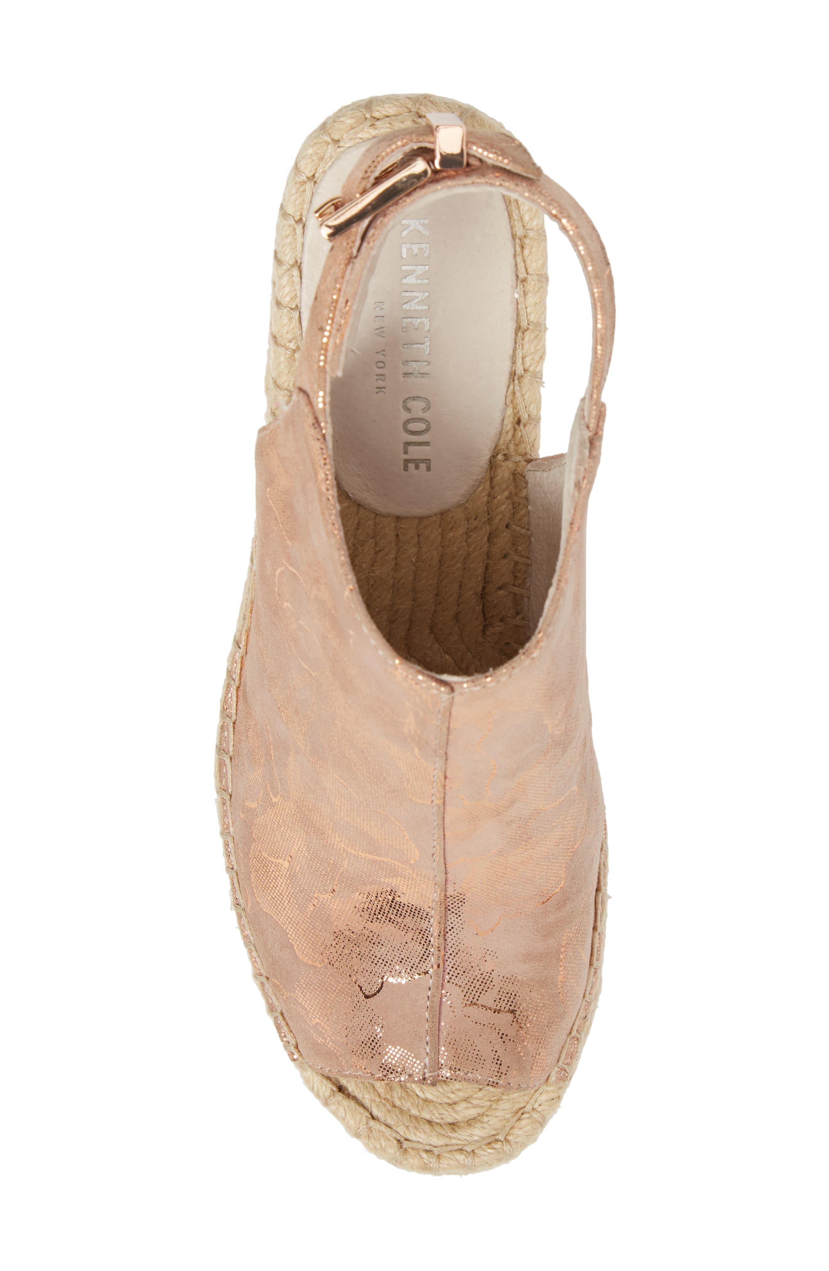 Alternate Image 5  - Kenneth Cole New York 'Olivia' Wedge Sandal (Women)
