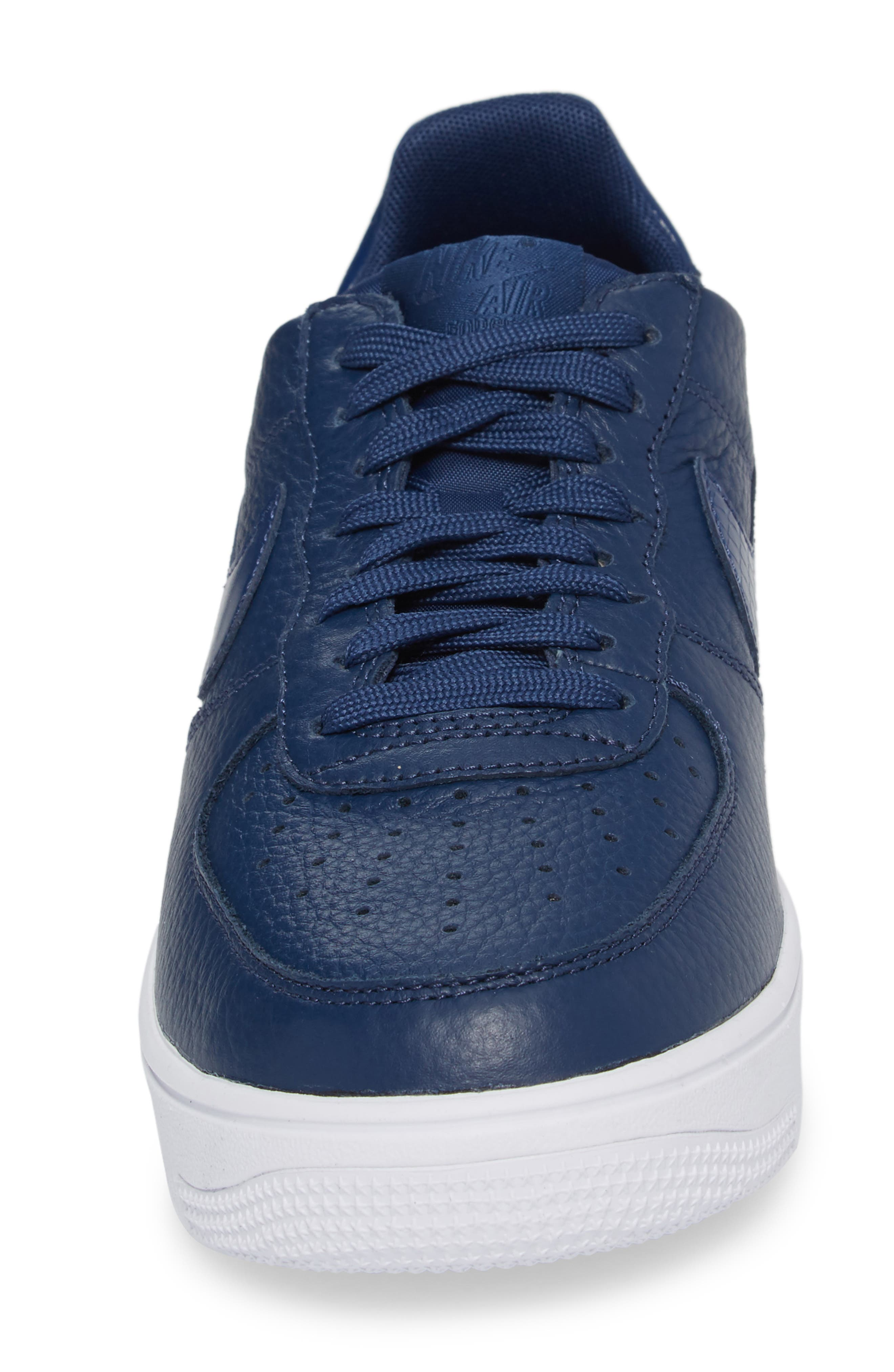 Air Force 1 Ultraforce Sneaker,                             Alternate thumbnail 4, color,                             Navy/ Navy/ White