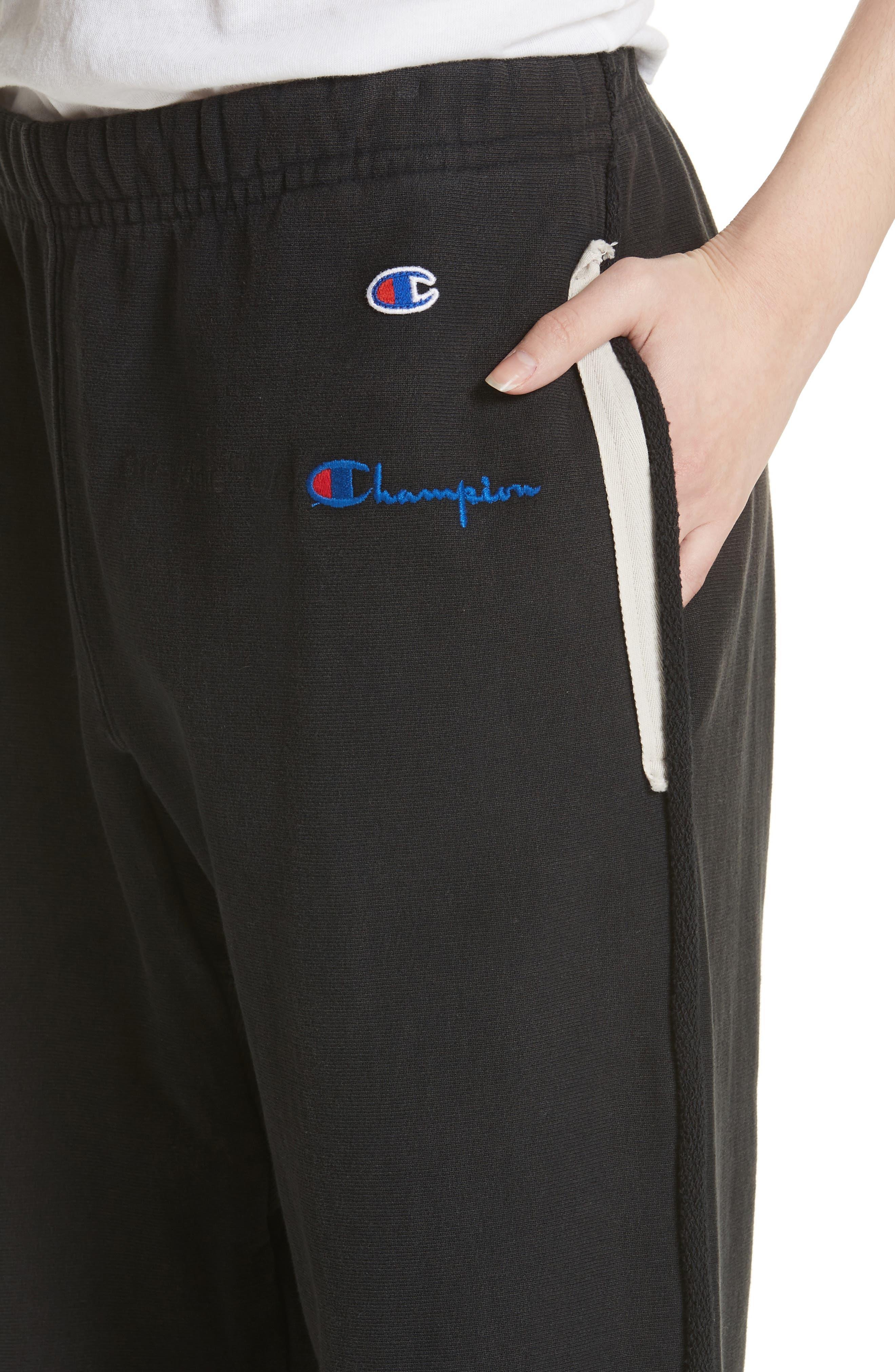Alternate Image 4  - Off-White x Champion Sweatpants