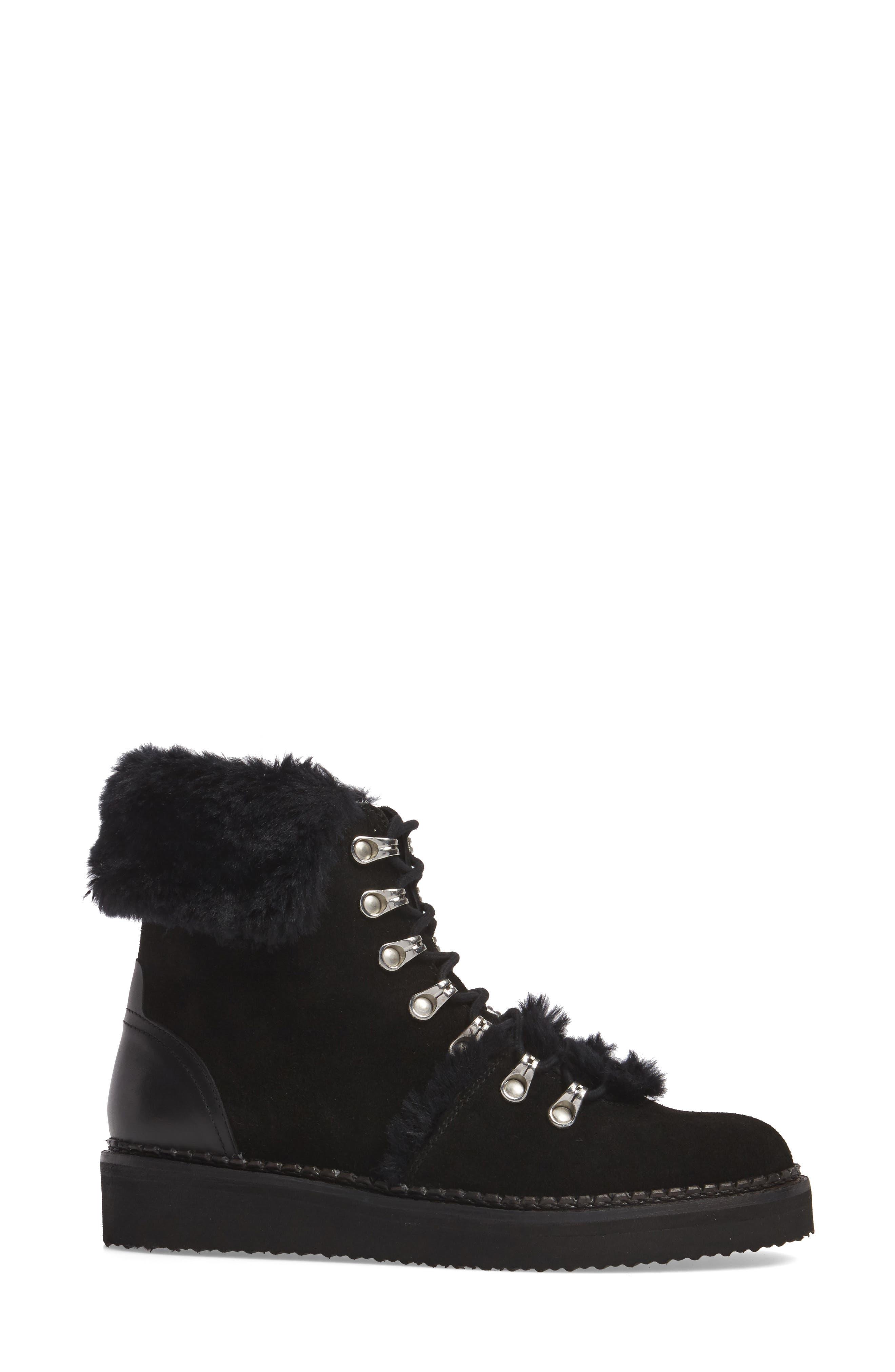 Tonkin Hiker Boot,                             Alternate thumbnail 3, color,                             Black