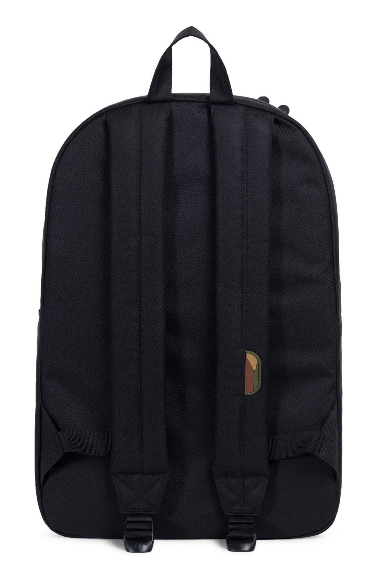 Heritage Reflective Backpack,                             Alternate thumbnail 2, color,                             Black/ Woodland Camo
