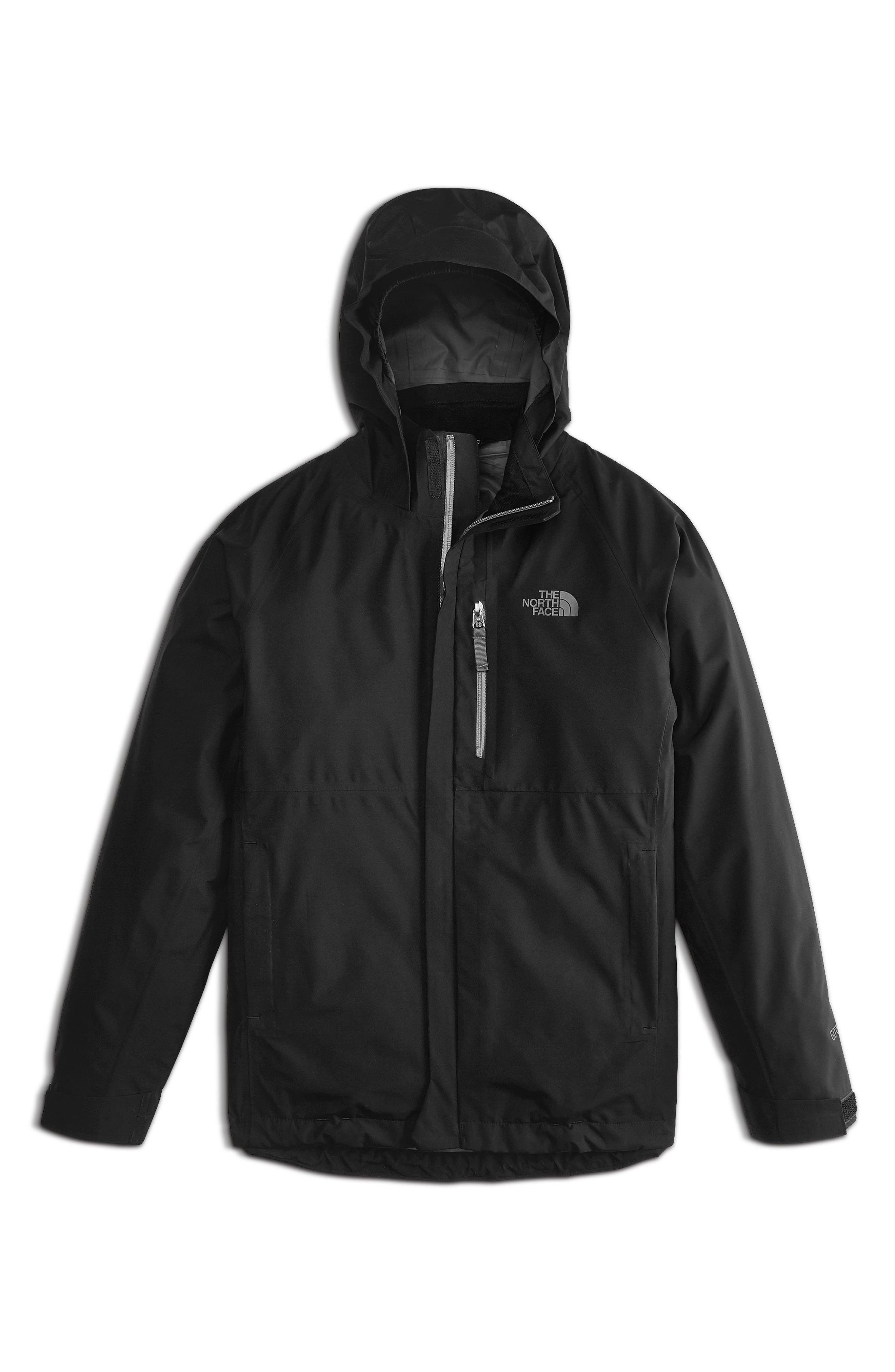 Dryzzle Gore-Tex<sup>®</sup> Waterproof Jacket,                         Main,                         color, Tnf Black