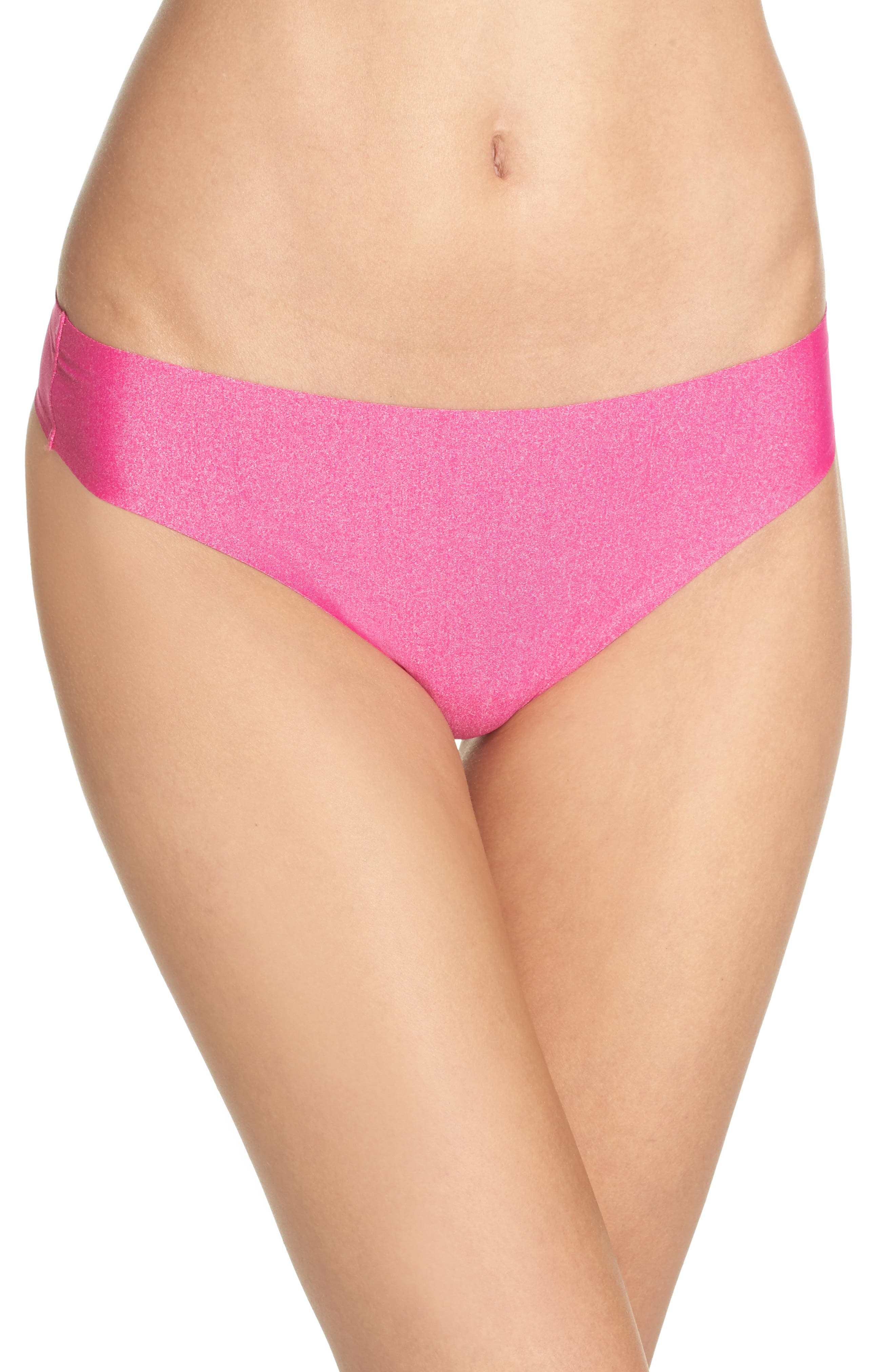 Alternate Image 1 Selected - Honeydew Intimates Skinz Thong (3 for $33)