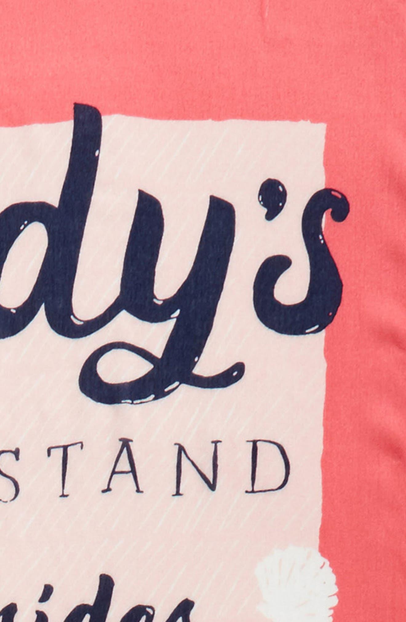 sandy's seaside stand scarf,                             Alternate thumbnail 4, color,                             Peach Sherbert