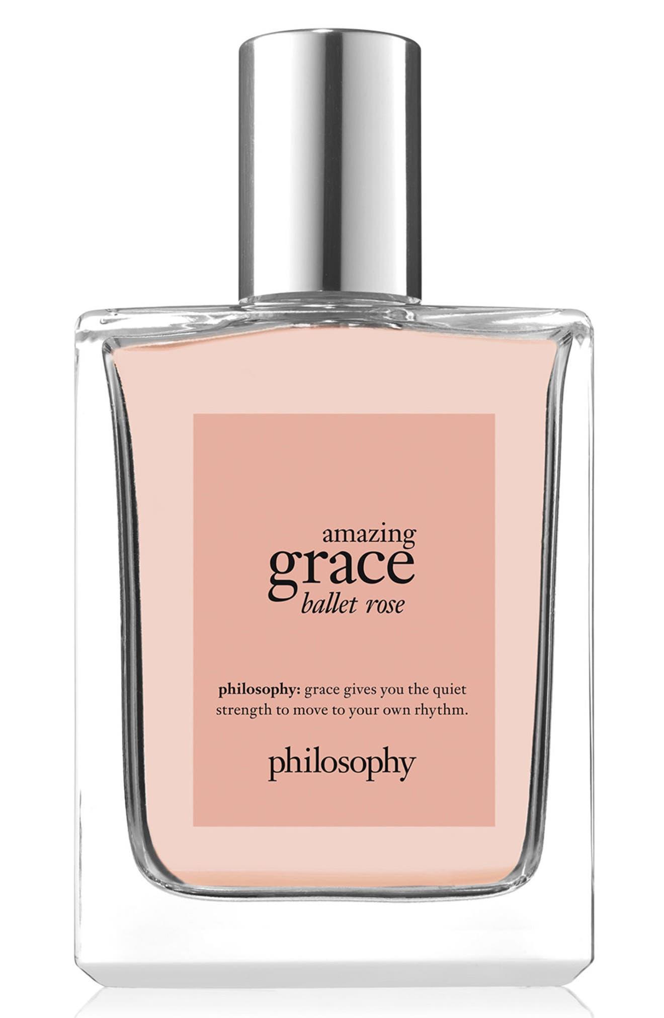 amazing grace ballet rose eau de toilette,                             Main thumbnail 1, color,                             No Color