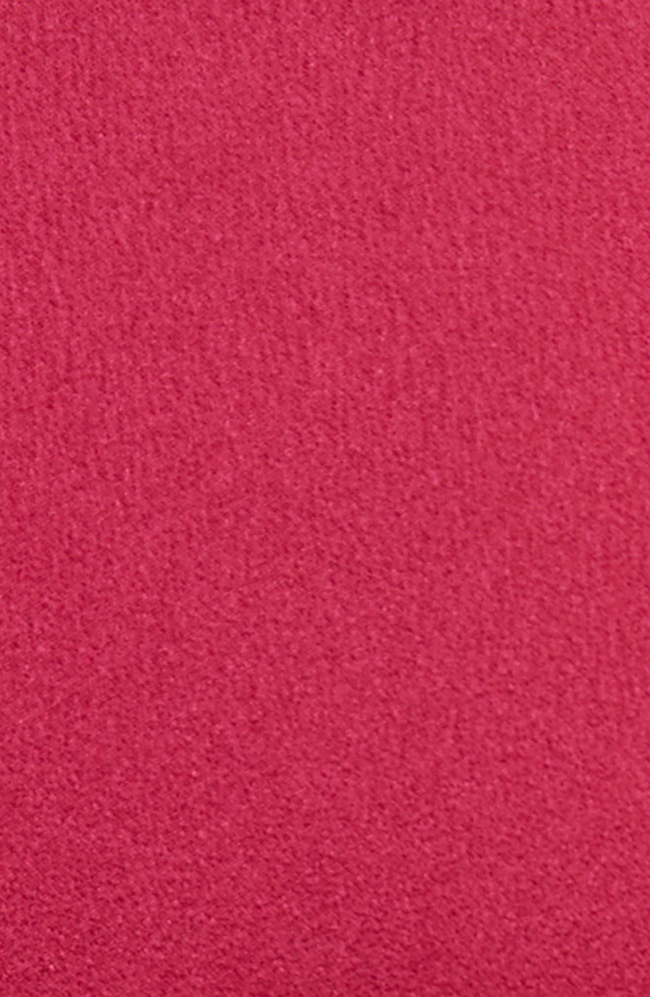 Tilly Asymmetrical Dress,                             Alternate thumbnail 5, color,                             Berry