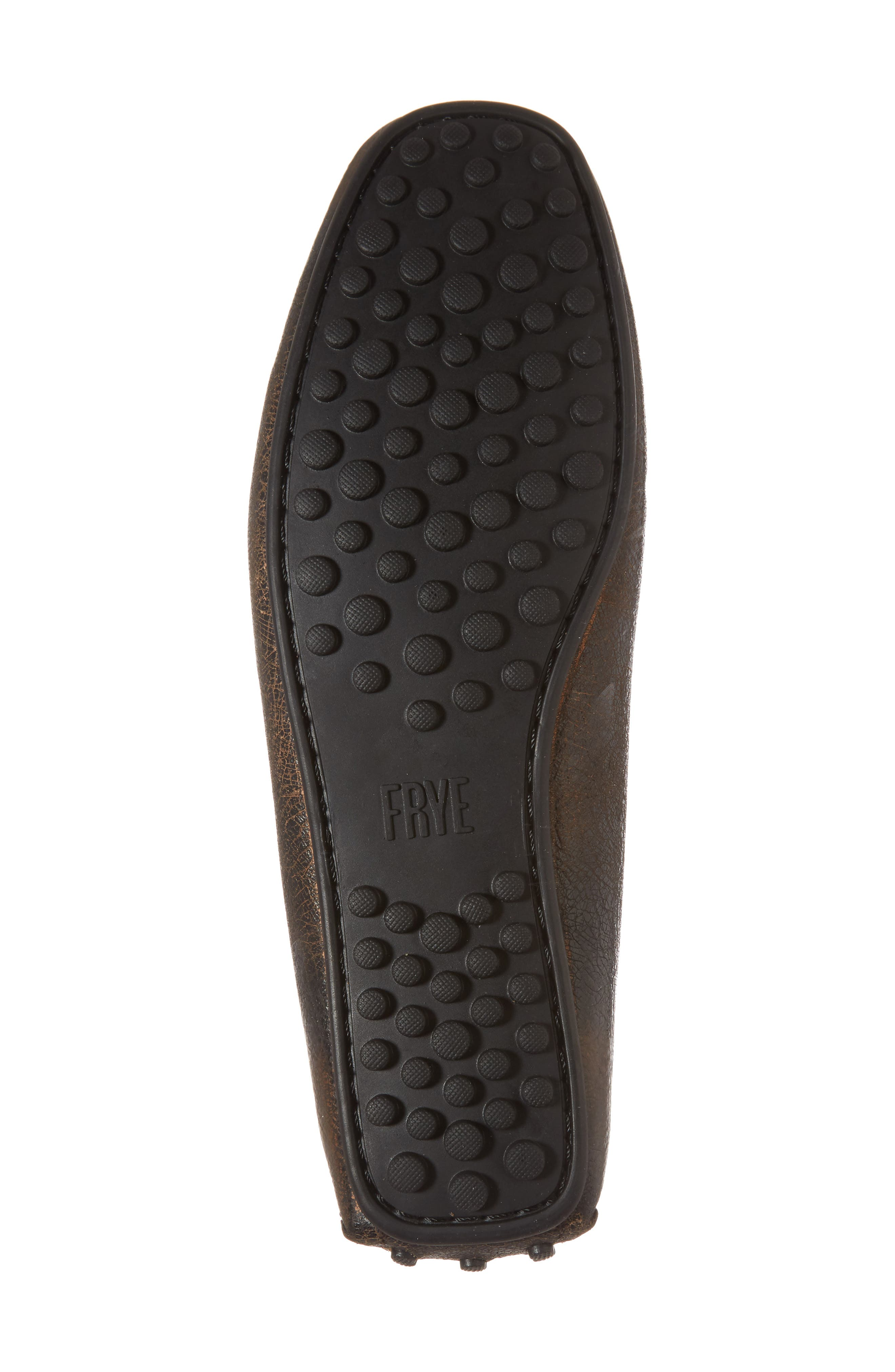 Allen Loafer,                             Alternate thumbnail 6, color,                             Dark Brown Leather
