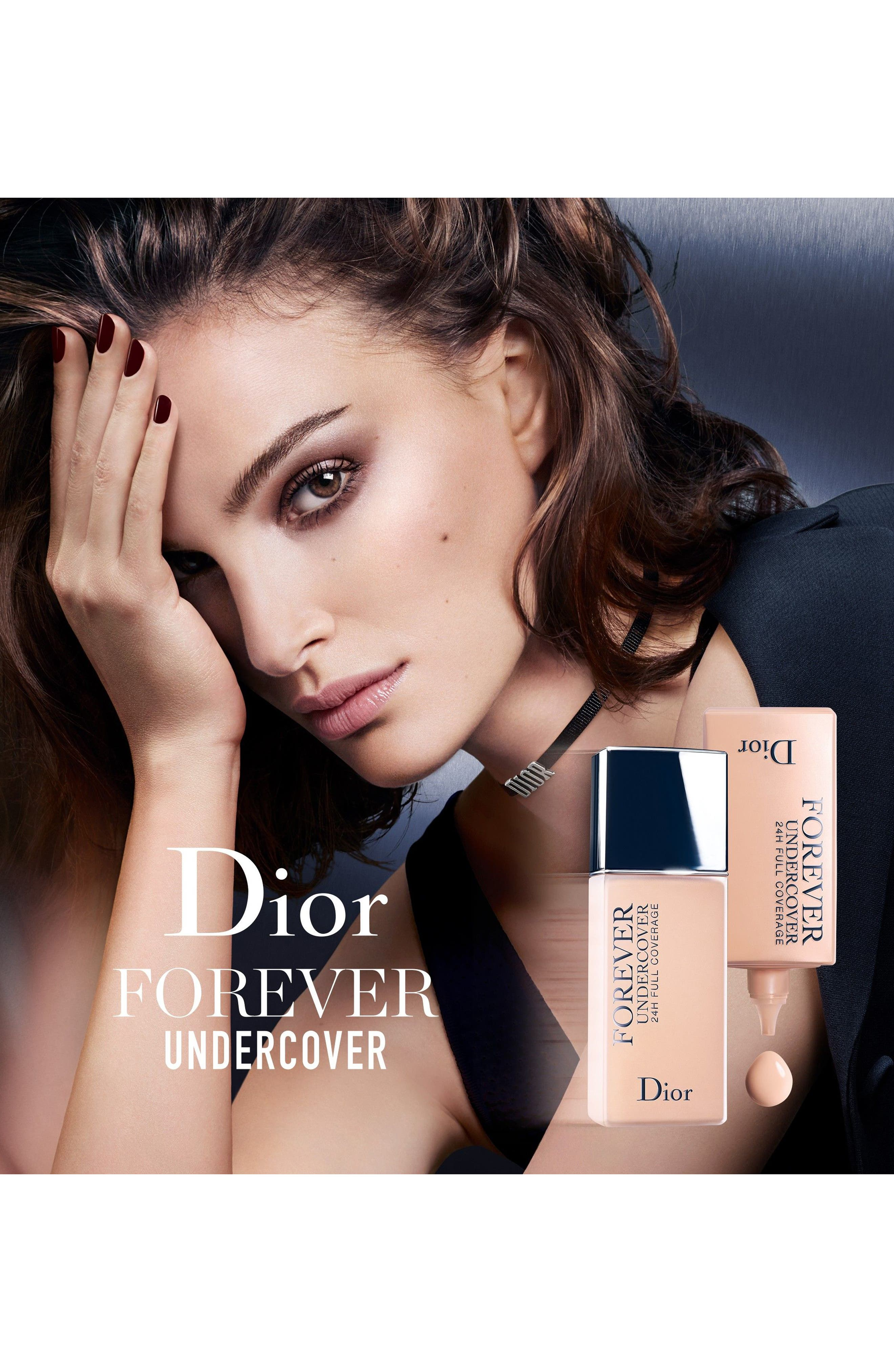 Diorskin Forever Undercover 24-Hour Full Coverage Water-Based Foundation,                             Alternate thumbnail 3, color,