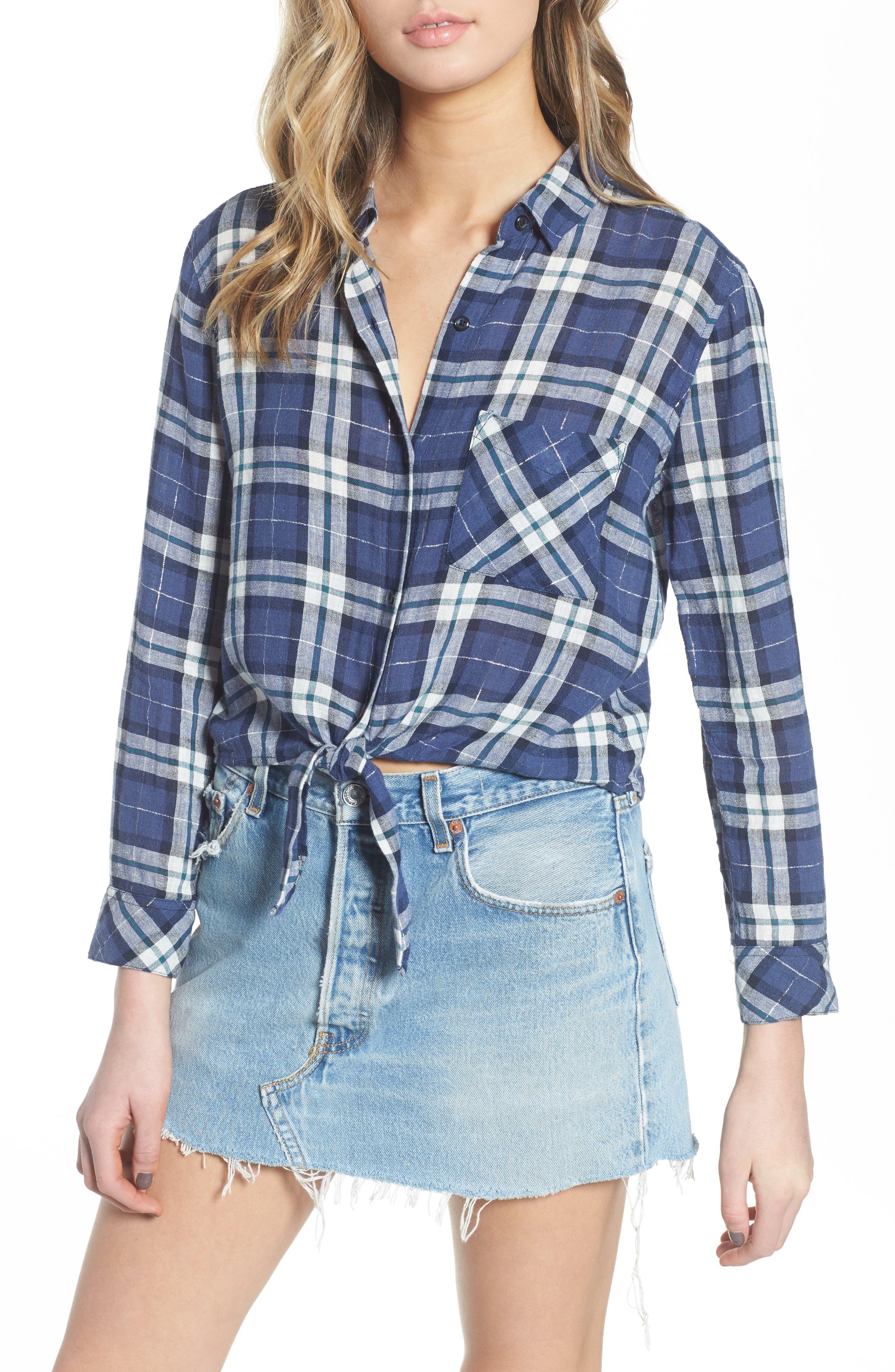 Main Image - Rails Val Tie Front Shirt