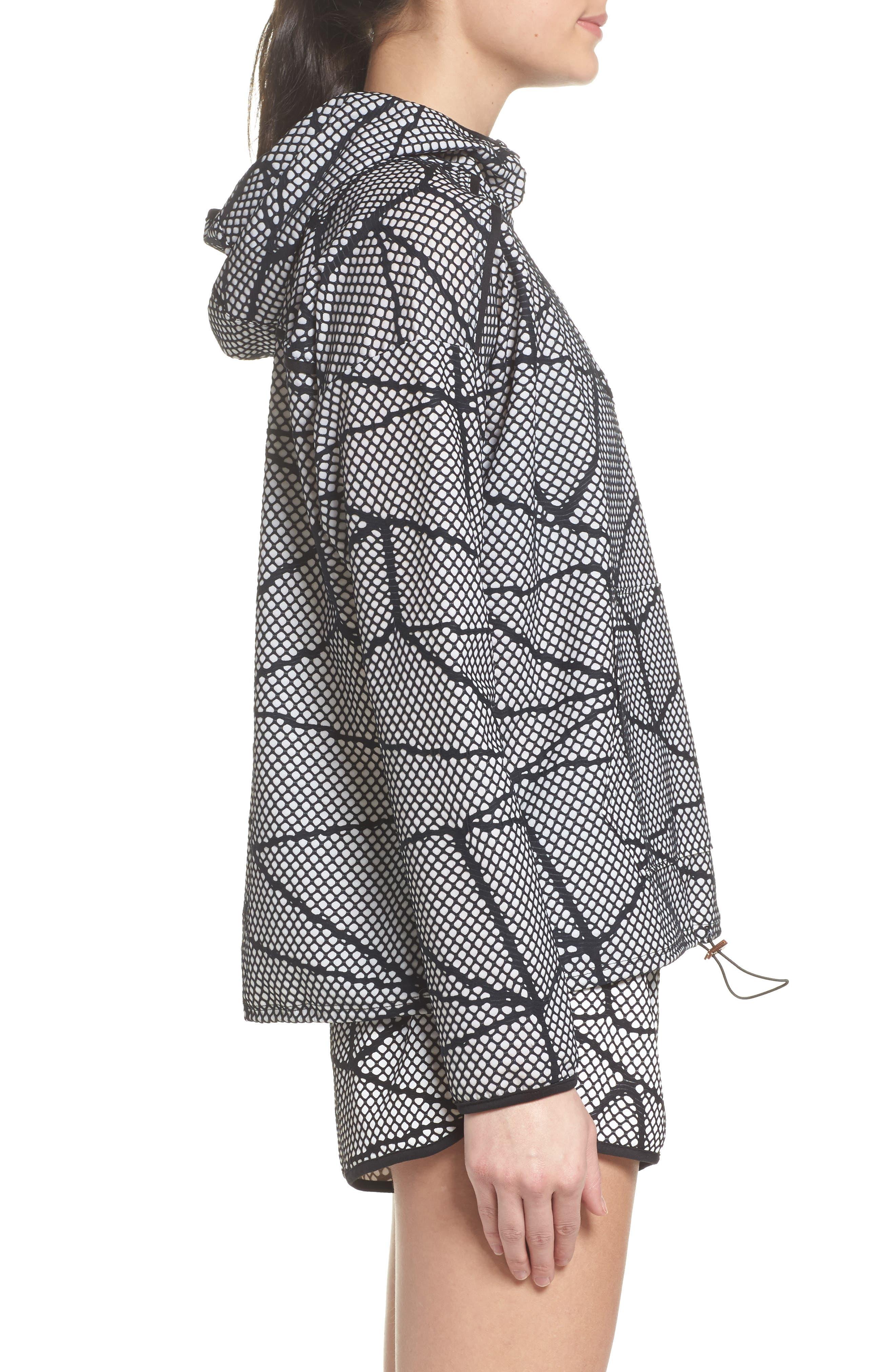 Chromatic Hoodie Pullover,                             Alternate thumbnail 3, color,                             Black-White Chromatic